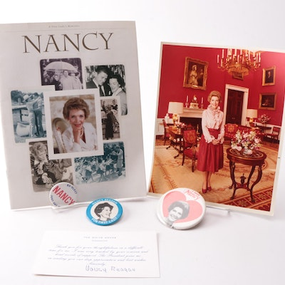 Nancy Reagan Memorabilia