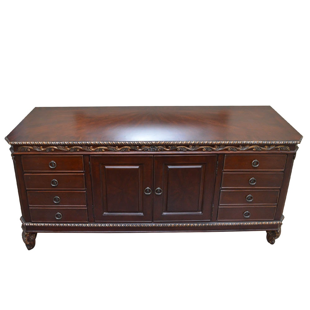 Hand Carved Chest of Drawers by Riviera