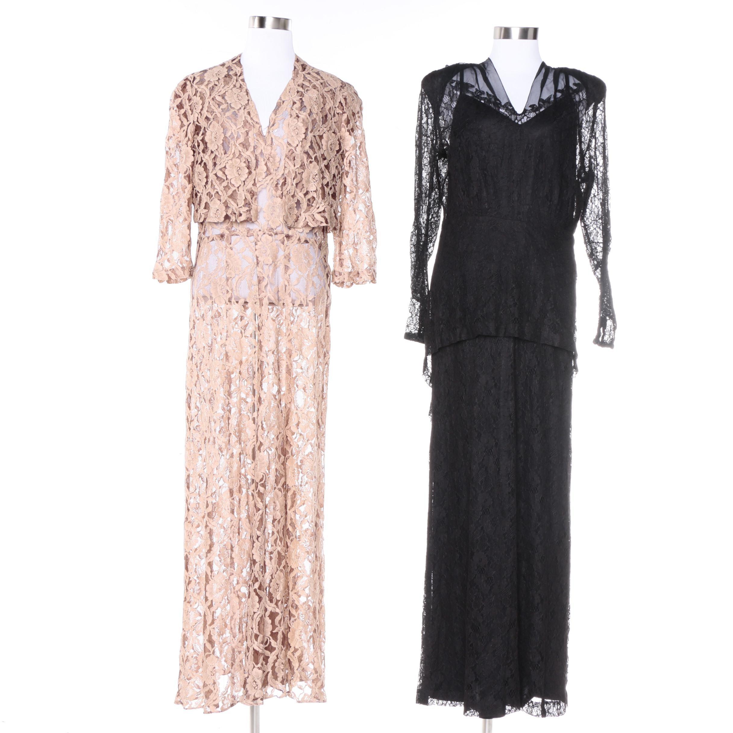 Women's Circa 1940s Vintage Dresses