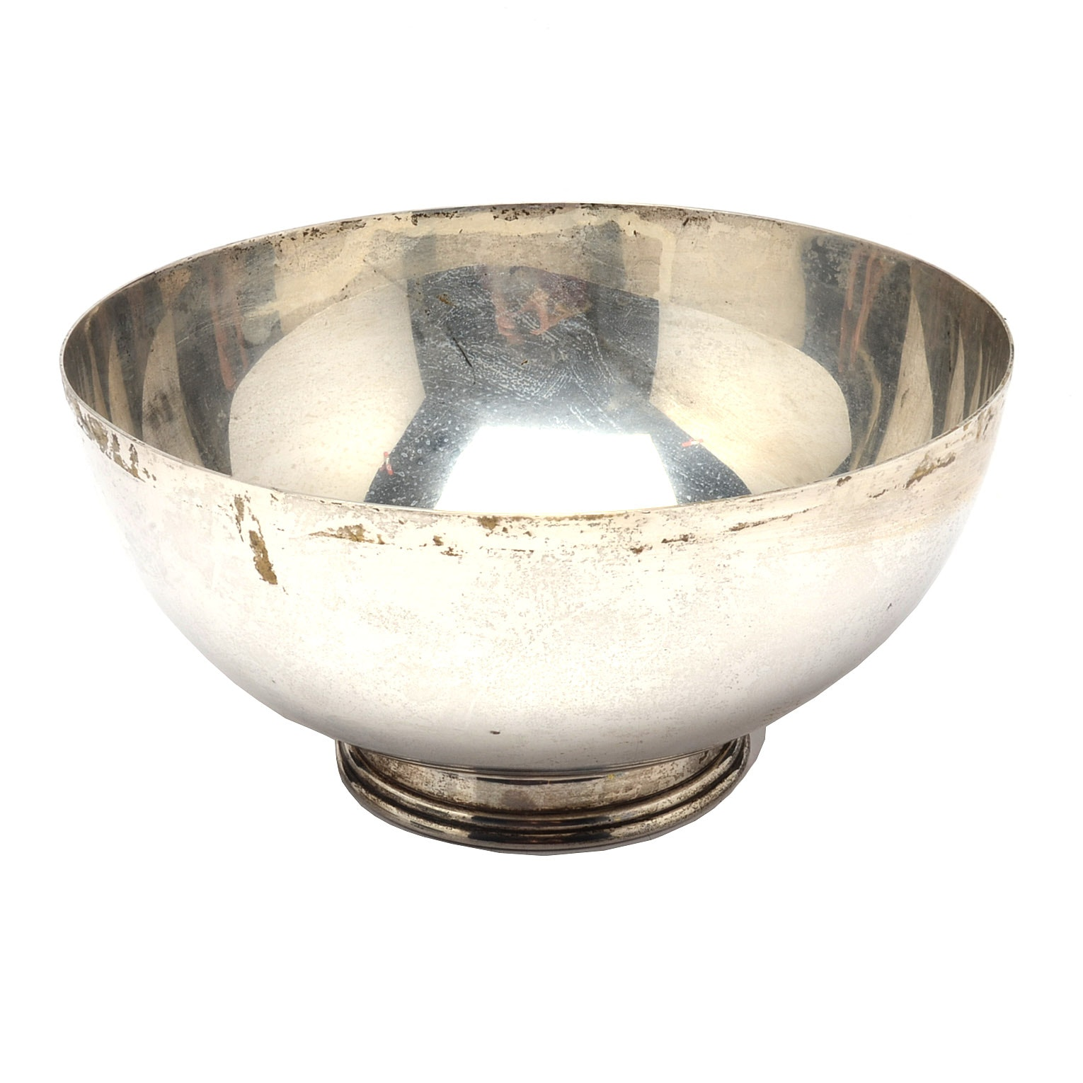Ensko New York Wynkoop Reproduction Footed Sterling Silver Bowl