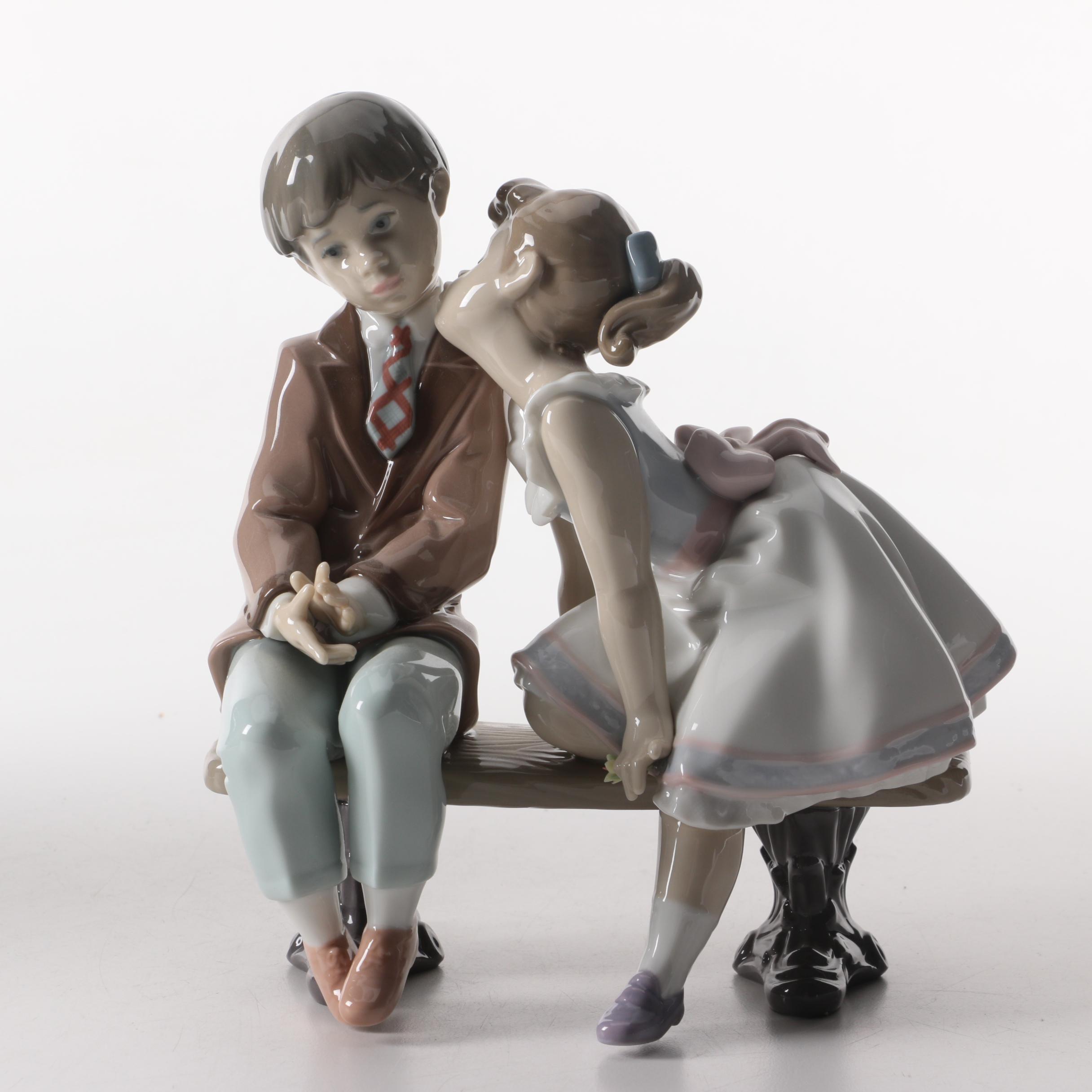 """Lladró Porcelain Figurine """"Ten and Growing"""""""
