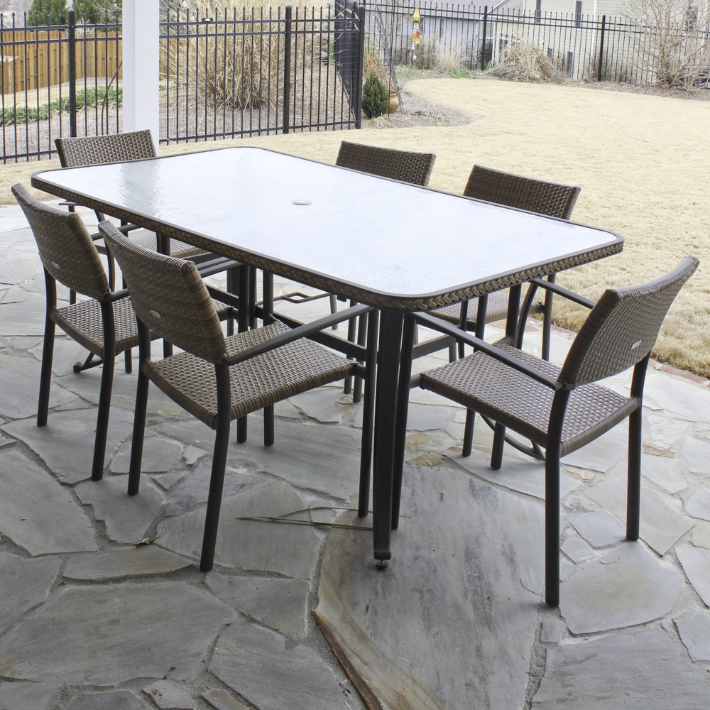 Tortuga Outdoor Patio Table and Chairs