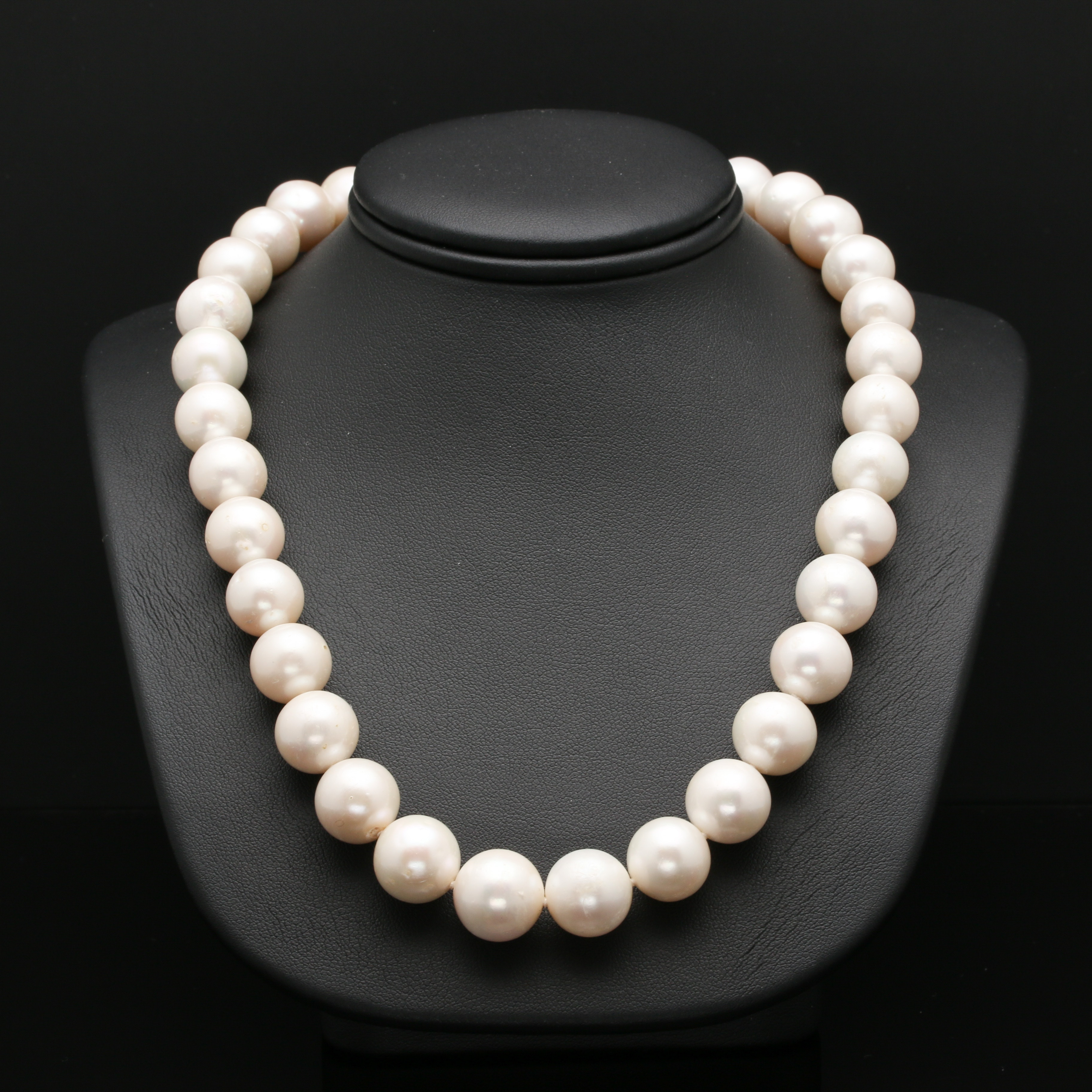 Sterling Silver Cultured Freshwater Pearl Necklace
