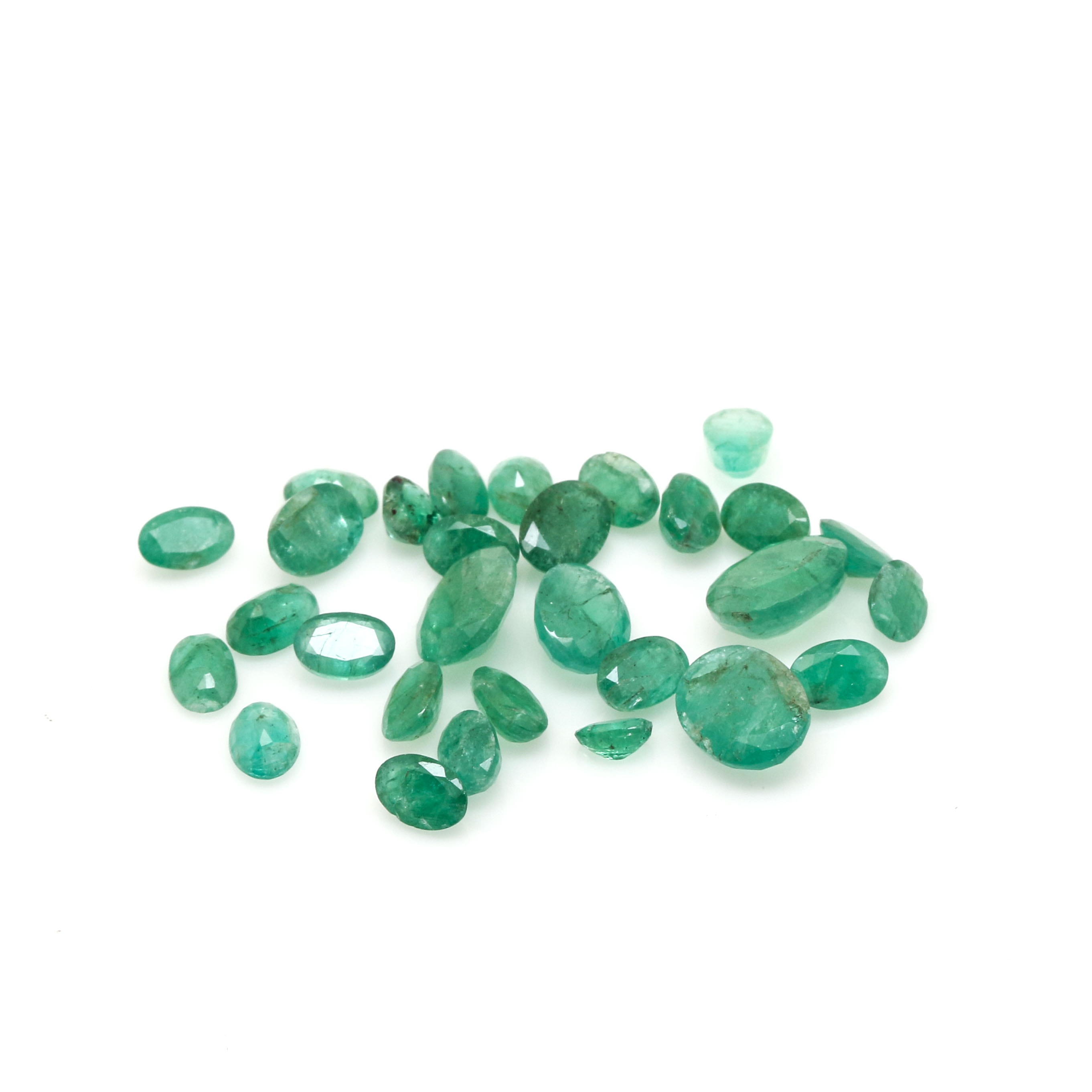 Loose 17.50 CTW Emerald Gemstones