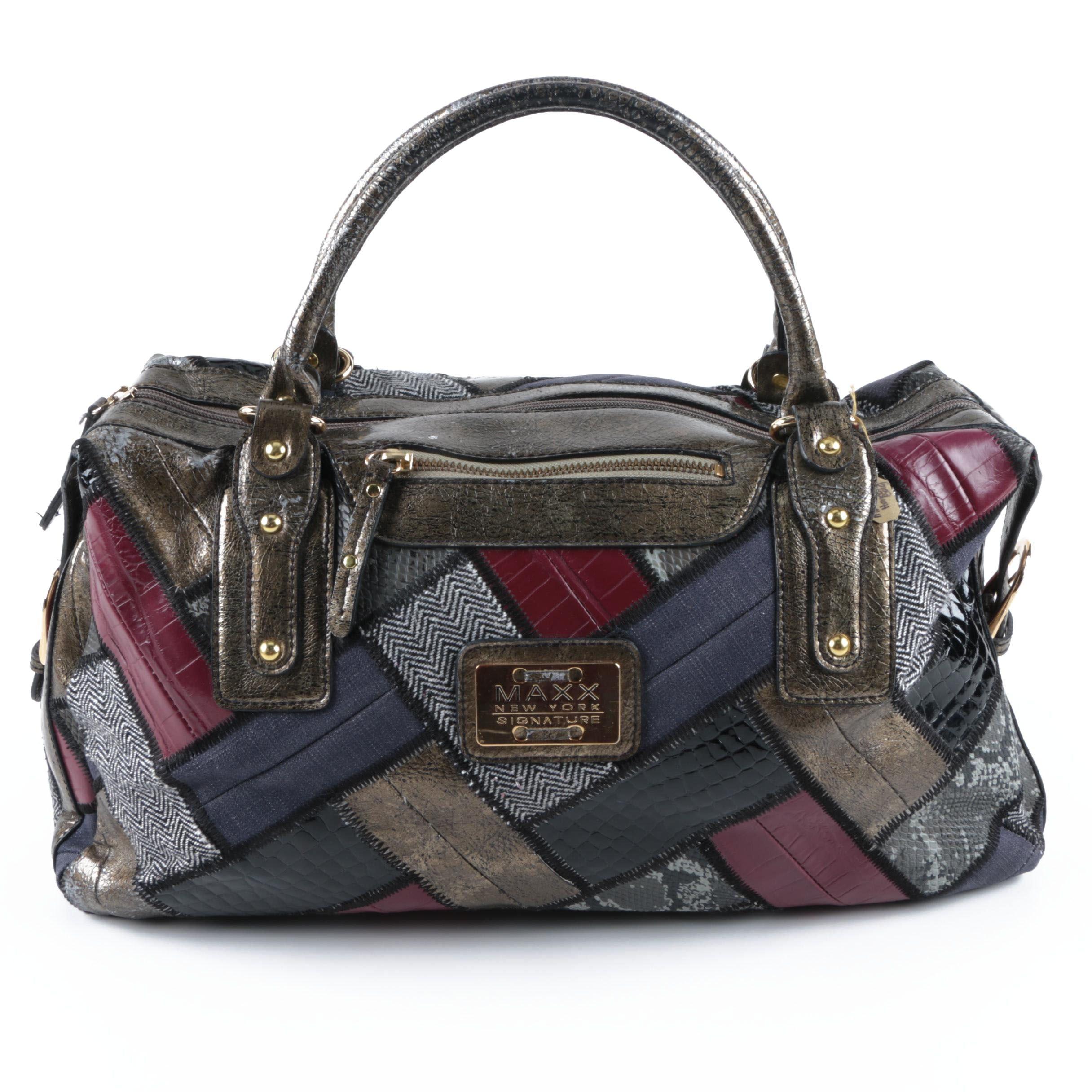 Maxx New York Patchwork Handbag