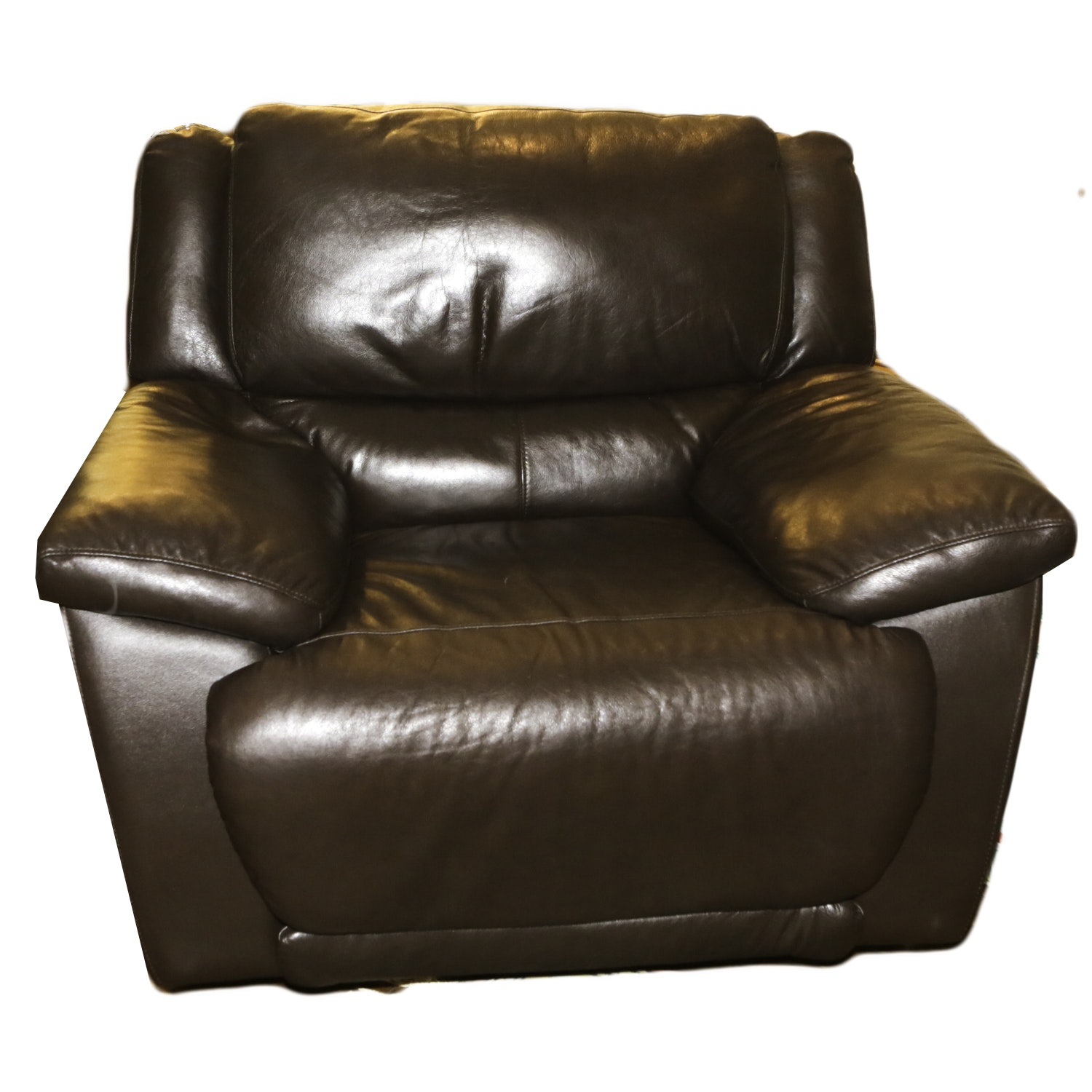 Contemporary Upholstered Reclining Lounge Chair