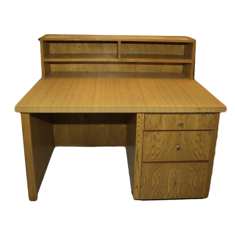 Vintage Laminate Oak Desk