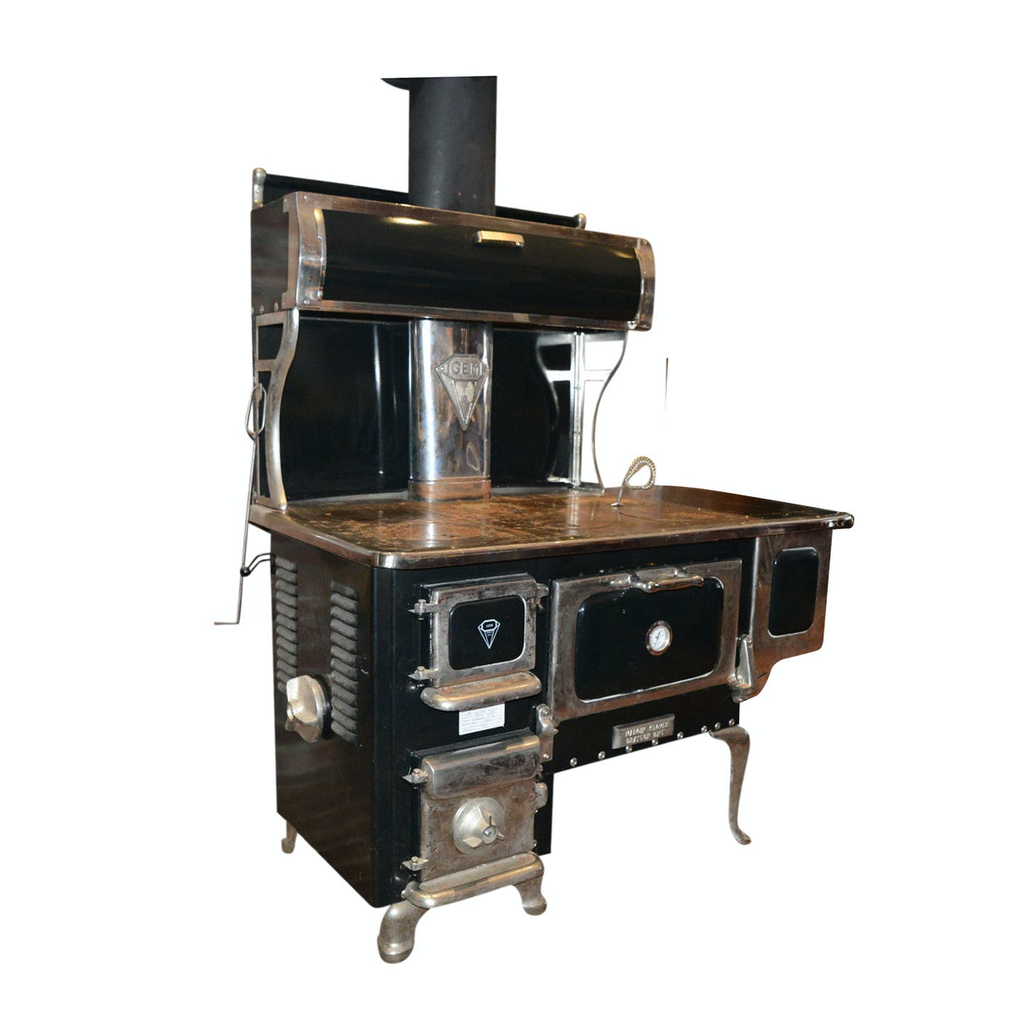 """Margin Stoves """"Gem"""" Cooking Range and Space Heater"""