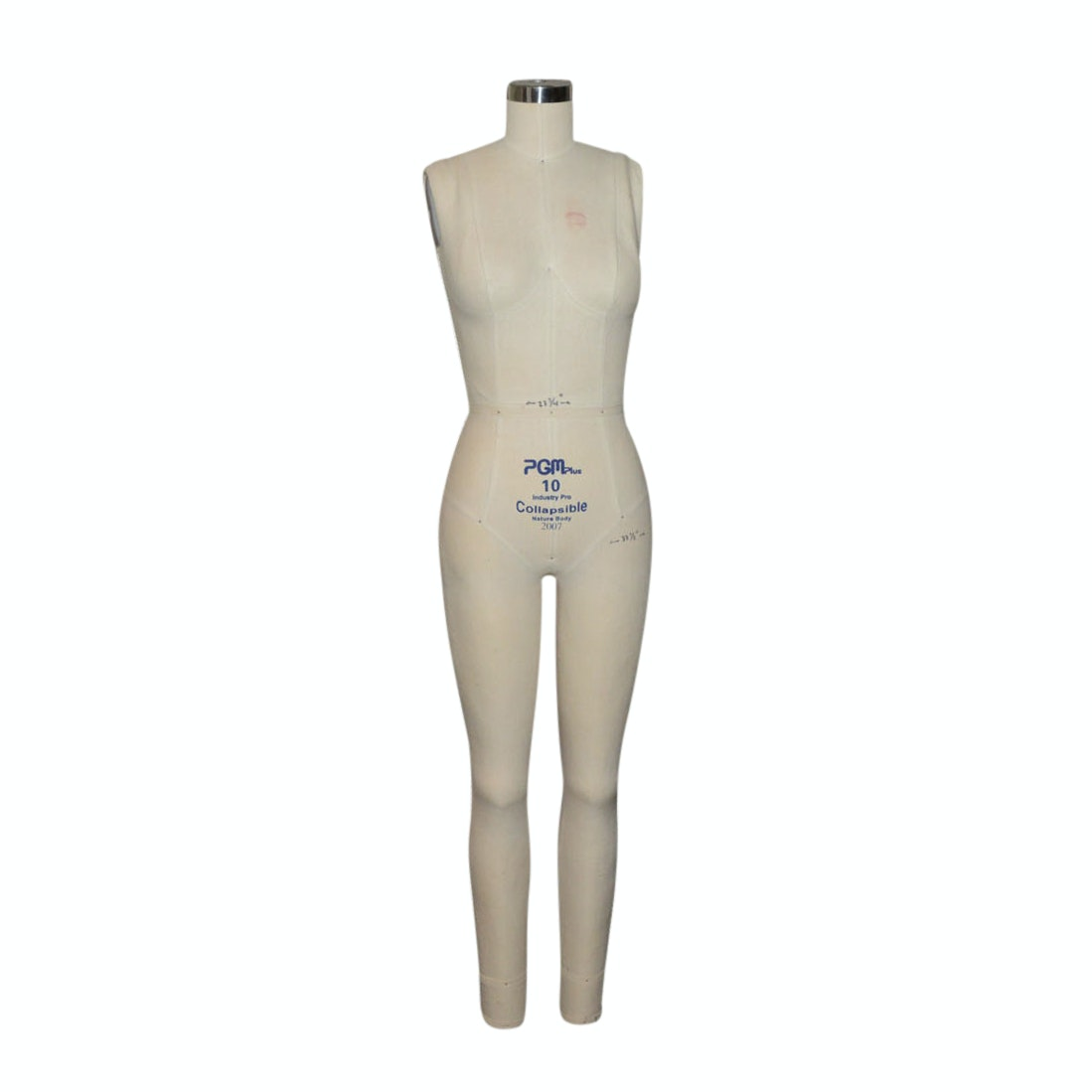 PGM Plus 10 Industry Pro Dress Form on Stand