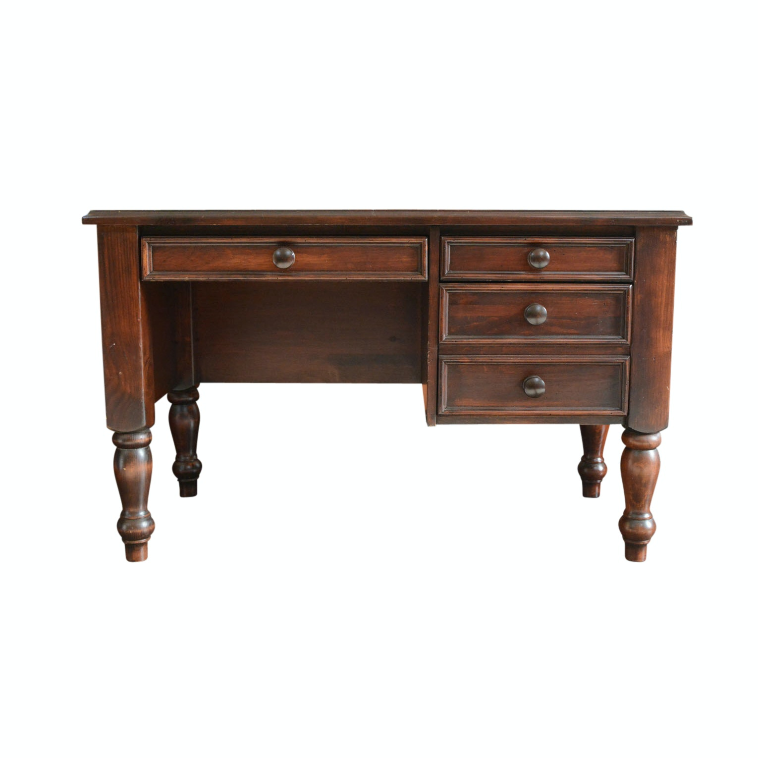 Vintage Early American Style Pine Desk