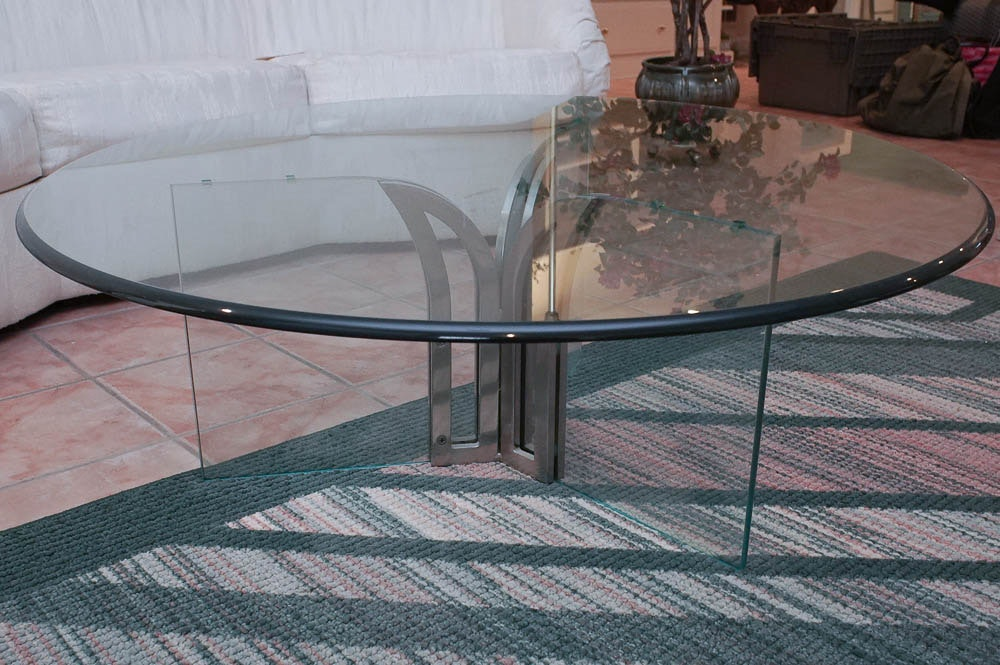 Modernist Glass Coffee Table