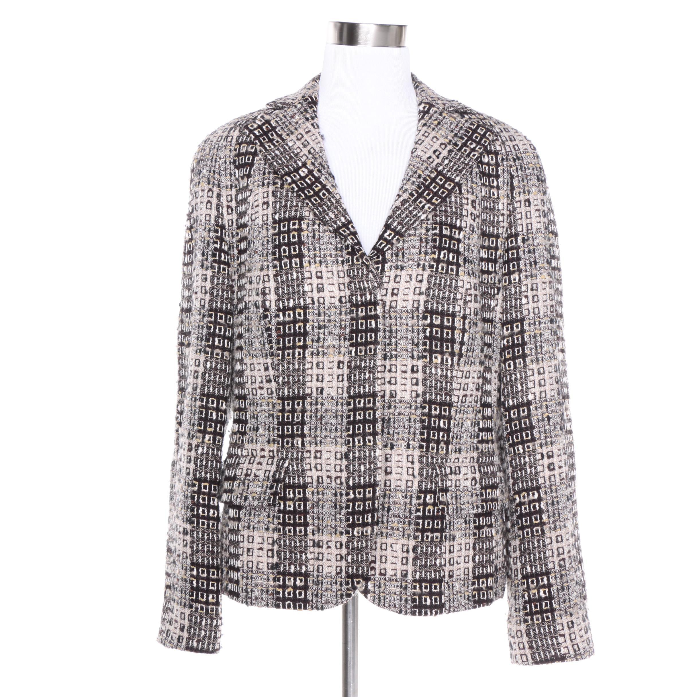 Women's Rena Lange Tweed Blazer