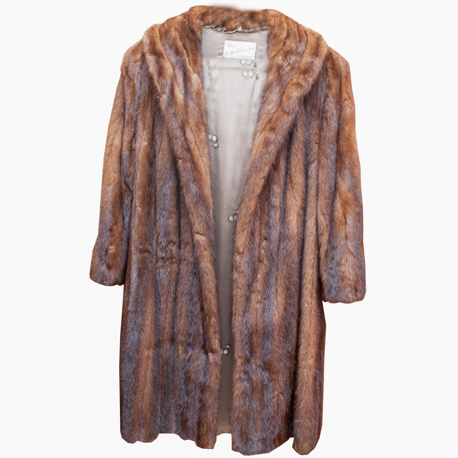 Vintage Beaver Fur Coat by K. Shoklers & Son