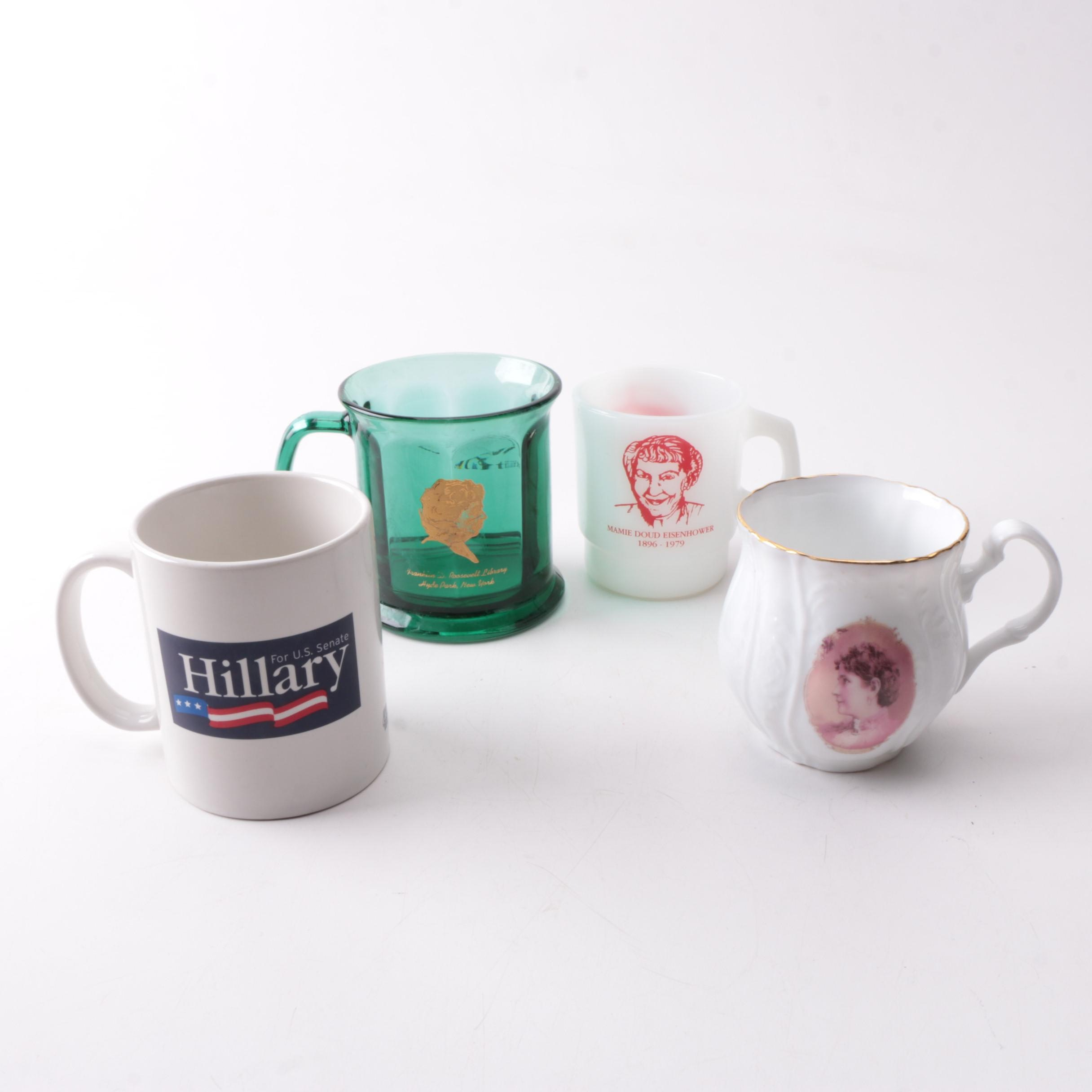 Commemorative First Lady Presidential Library Mugs