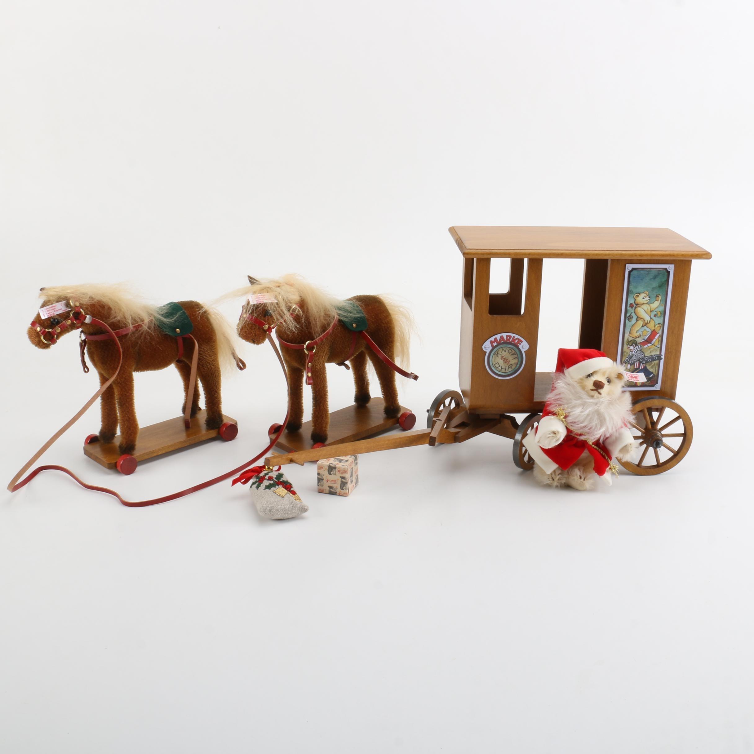 Steiff Santa's Express Set
