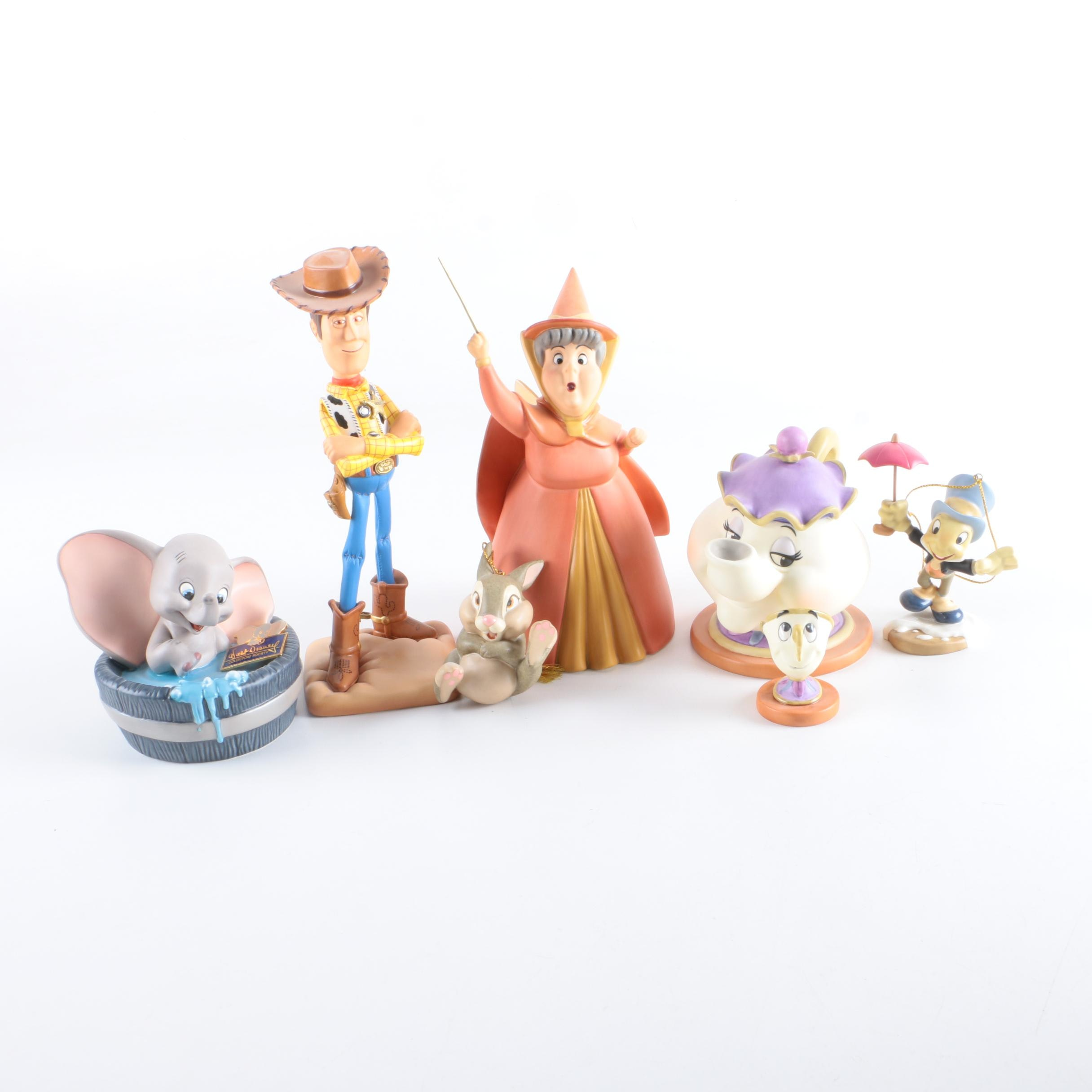 "Walt Disney ""Classics Collection"" Porcelain Figurines and Ornaments"