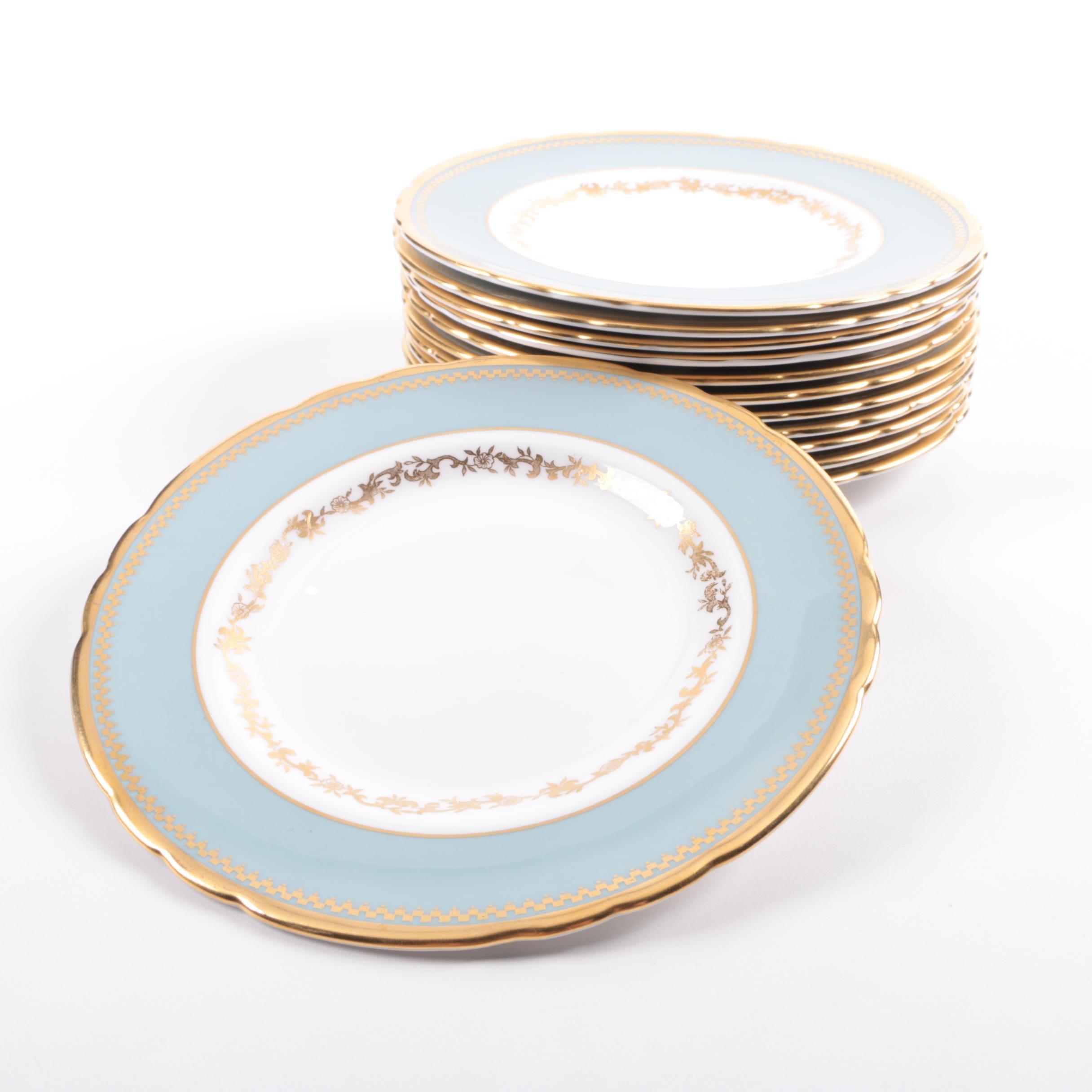 "Vintage Tuscan ""Westbury"" Bone China Plates"