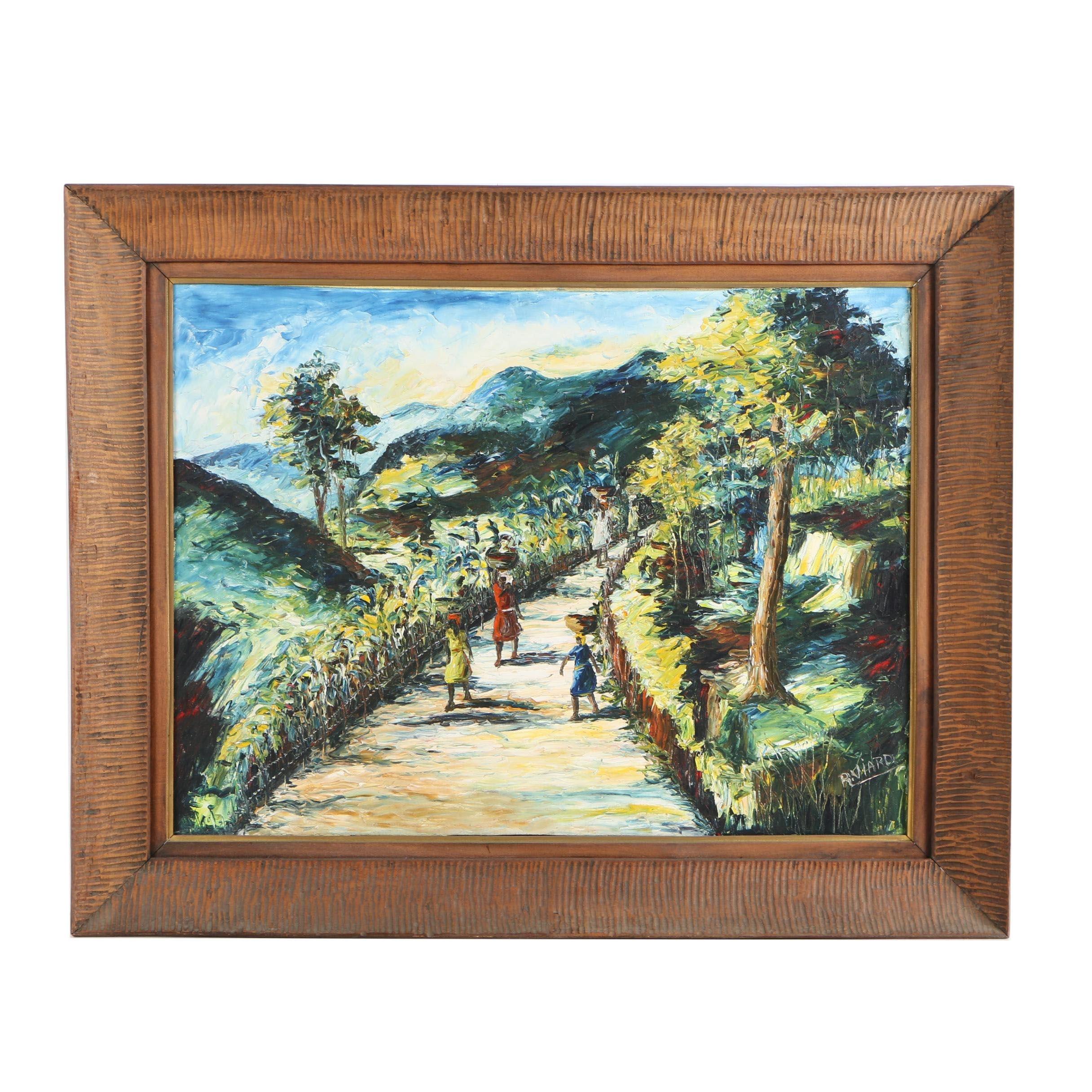 Raoul Viard Oil Painting