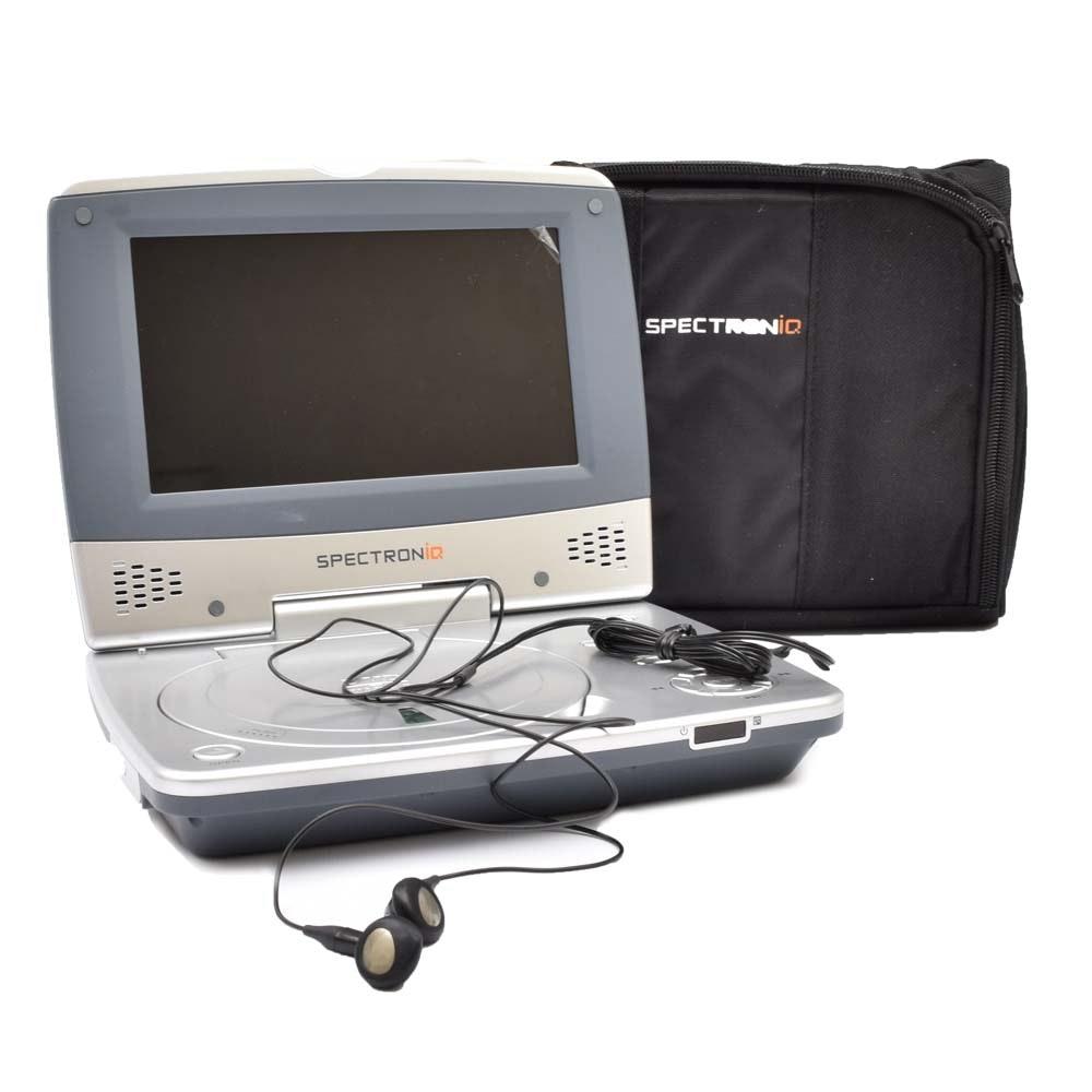 "spectroniq pdv 700 portable dvd player ebth rh ebth com Spectroniq 32"" LCD Flat Screen TV"