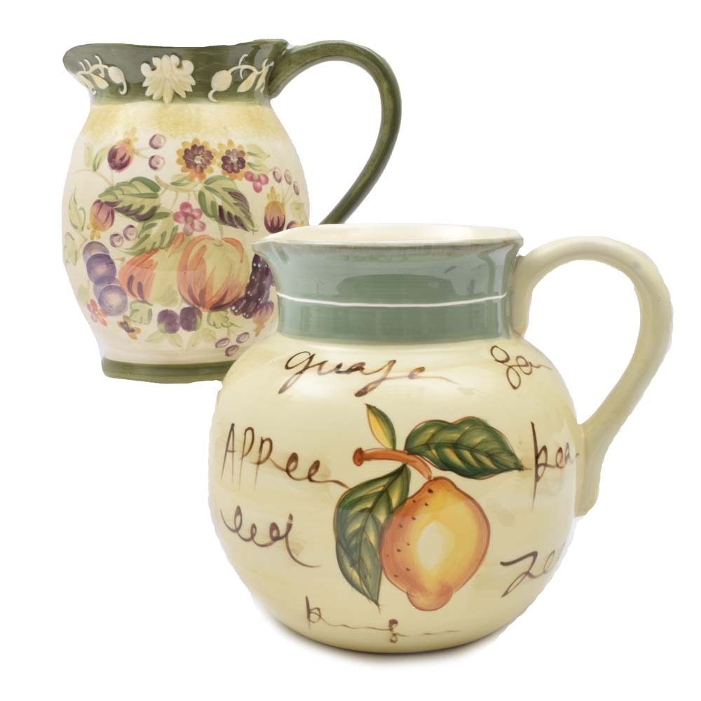 Decorative Ceramic Pitchers