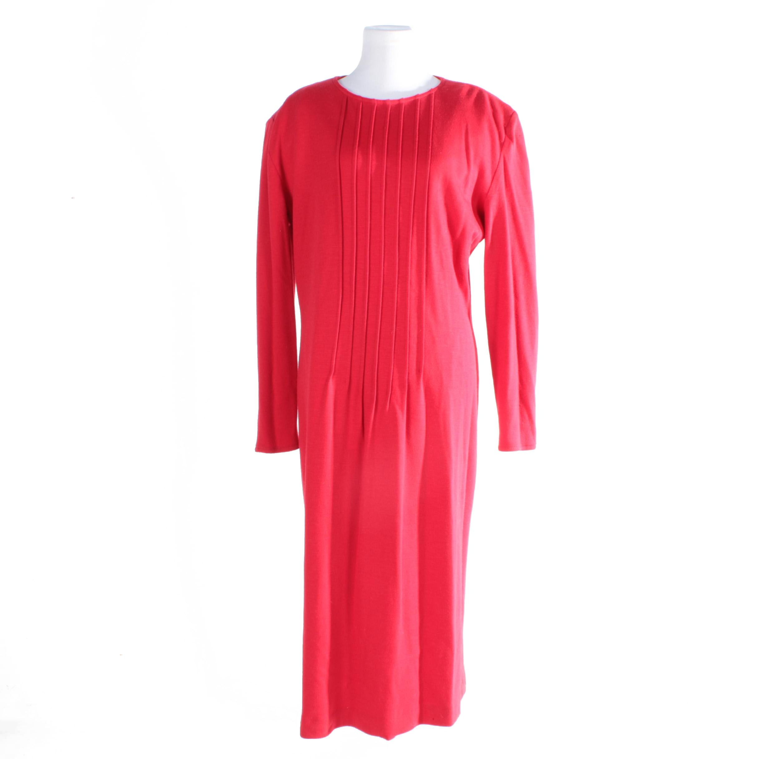 Giorgio Armani Wool Dress