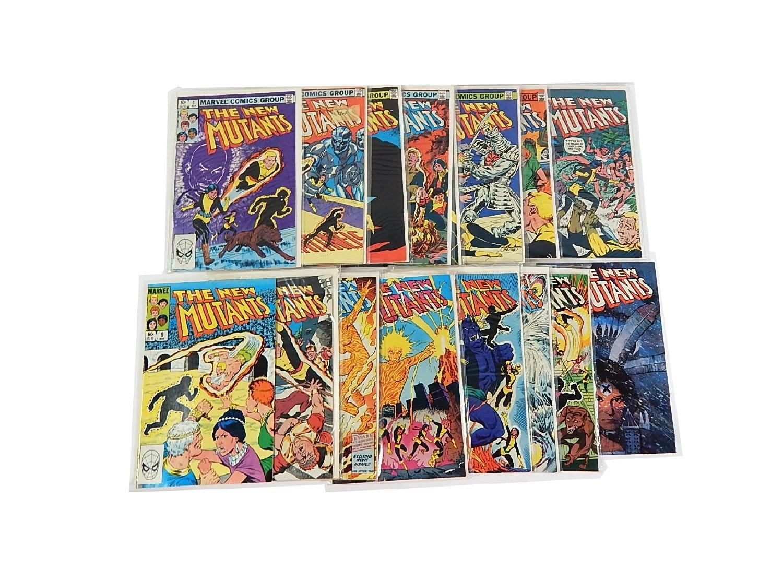 "Bronze Age Marvel Comics with ""The New Mutants"""