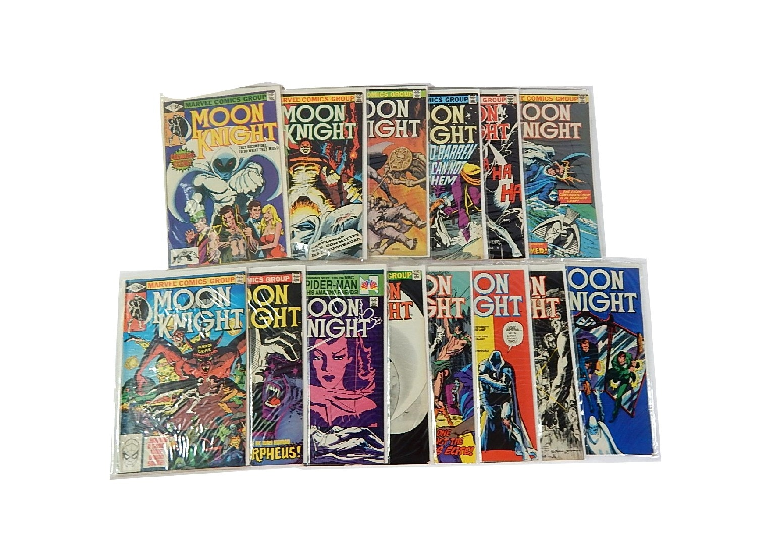 """Bronze Age Marvel Comics with """"Moon Knight"""" Issues"""