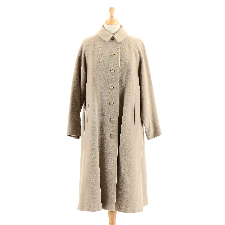 Vintage Wool Car Coat