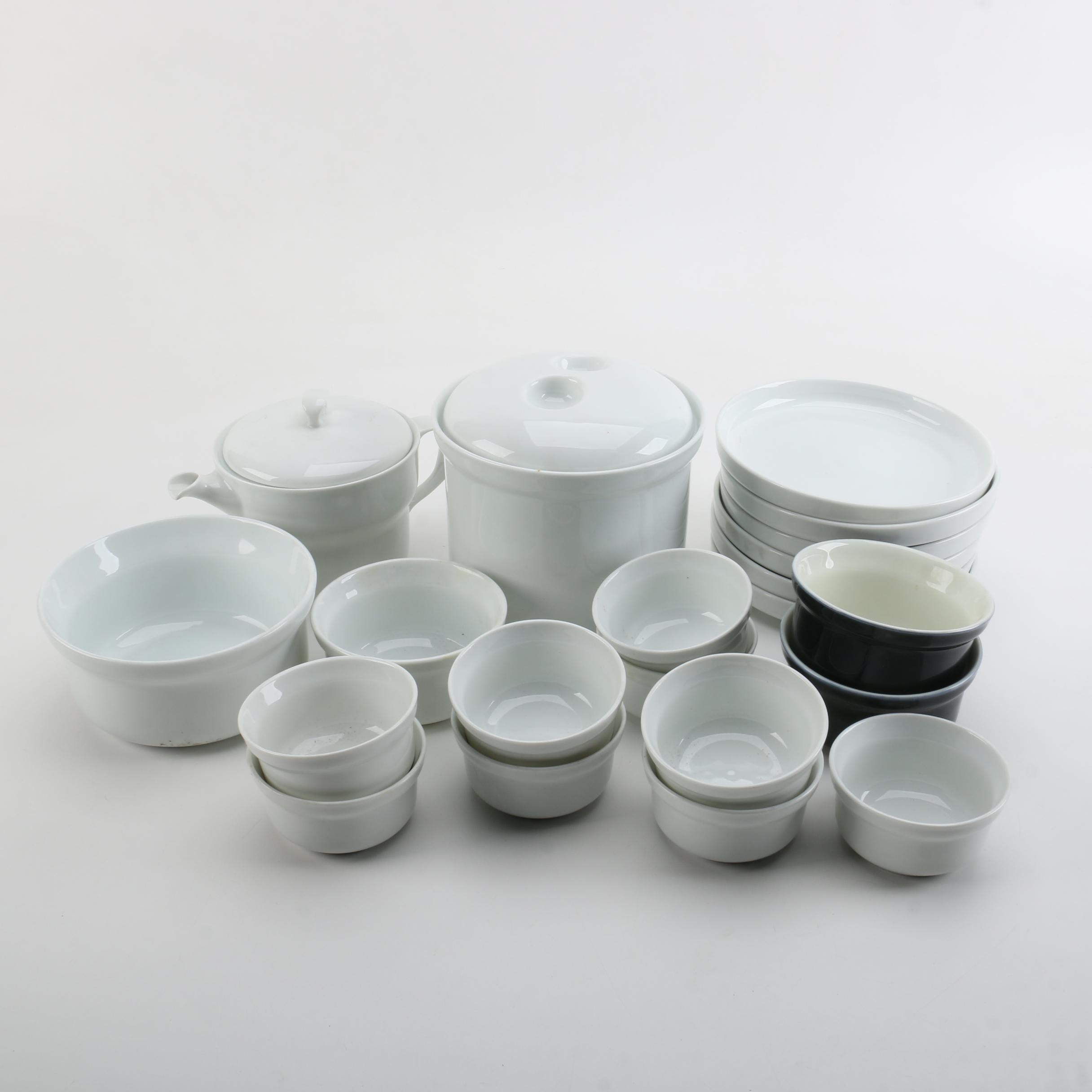 "Richard Ginori ""Eco White"" Italian Ceramic Tableware"