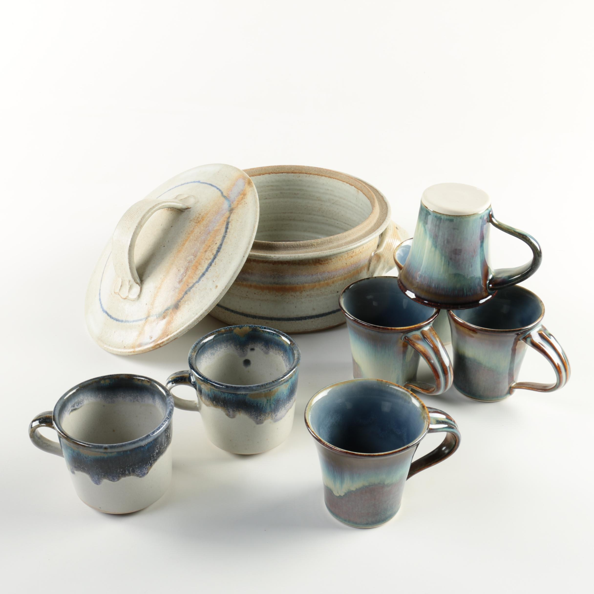 Hand Thrown Stoneware and Porcelain Tableware including Stone Soldier Pottery ... & Hand Thrown Stoneware and Porcelain Tableware including Stone ...