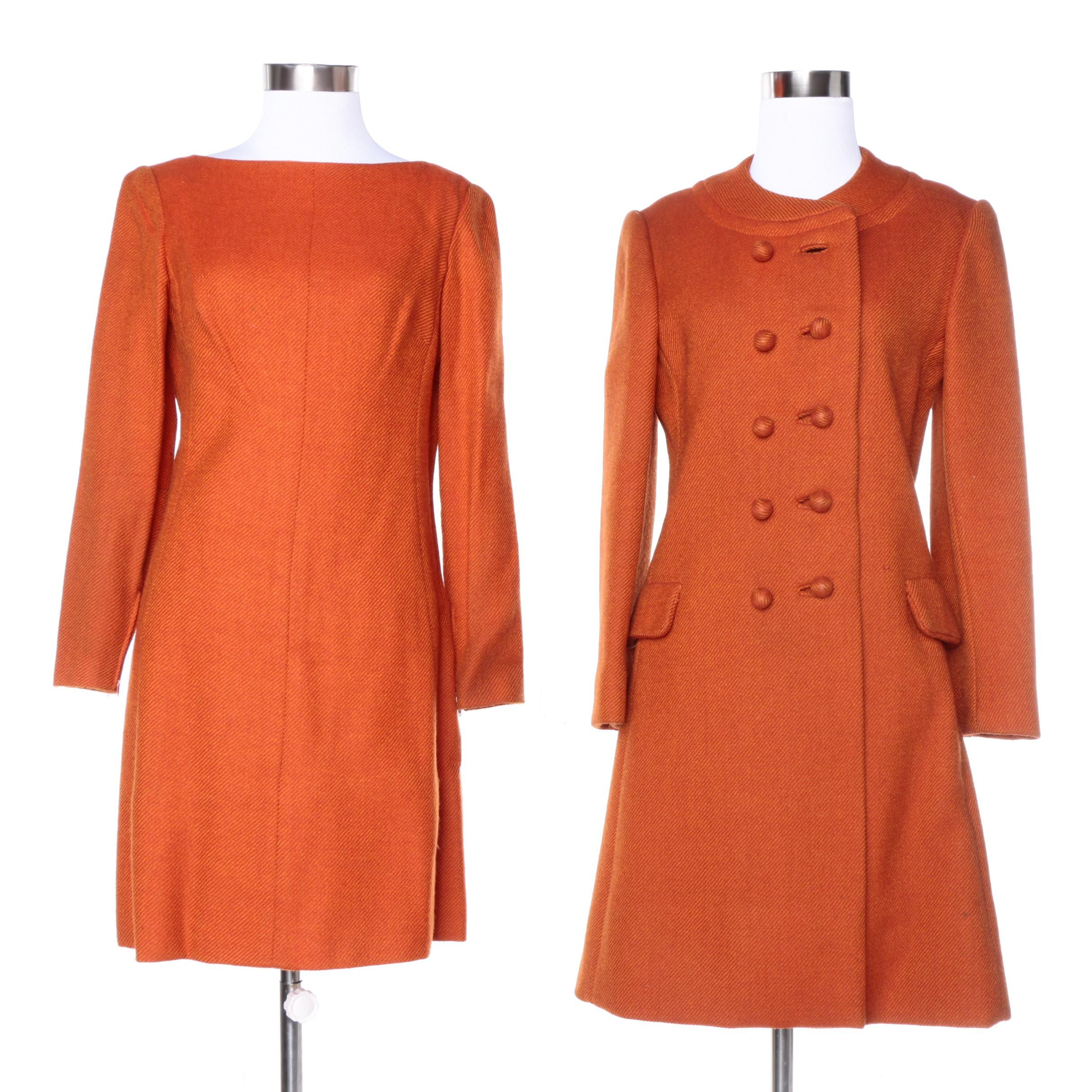 Vintage Mam'selle by Betty Carol Wool Dress and Coat