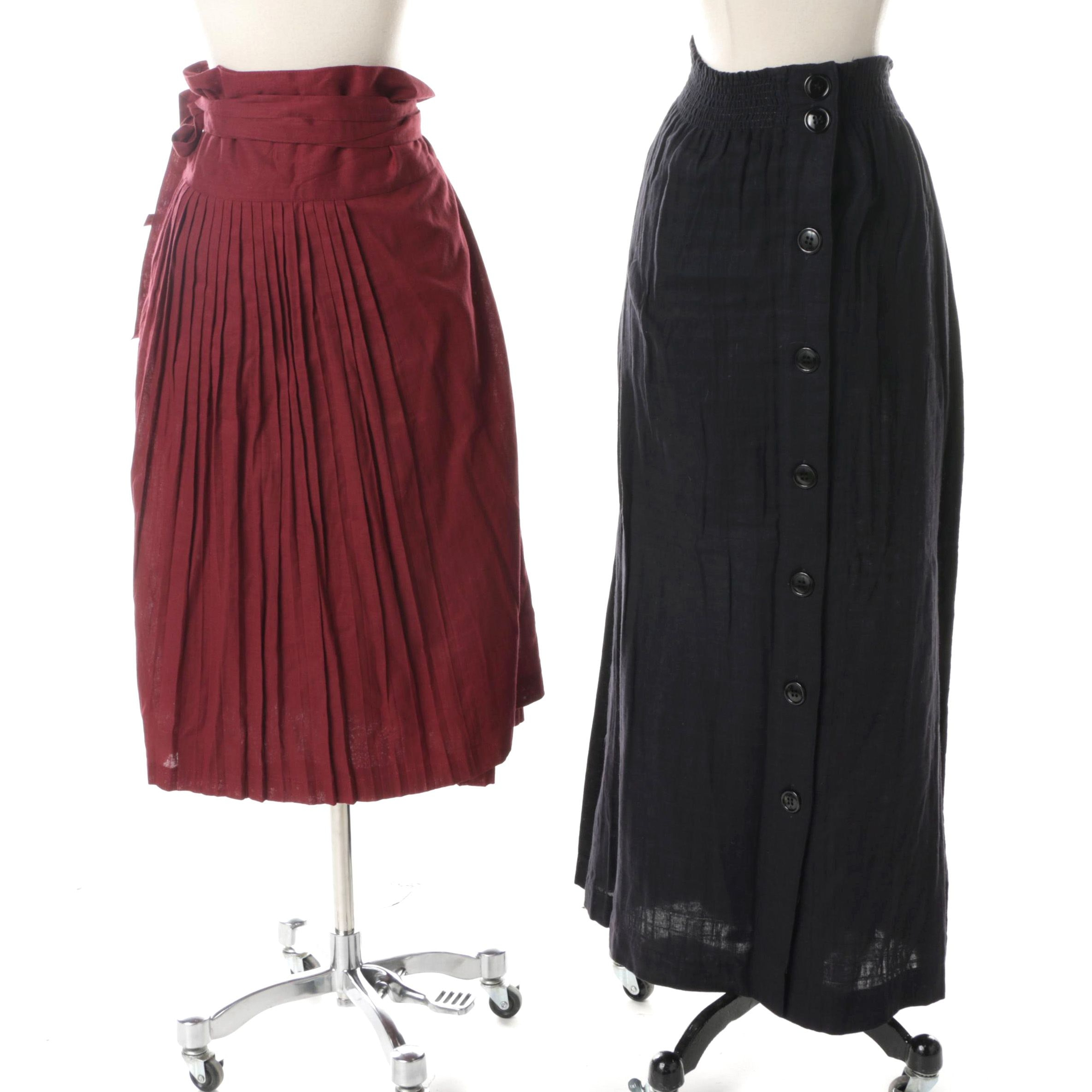 Women's Cotton Skirts Including Vintage Kenzo
