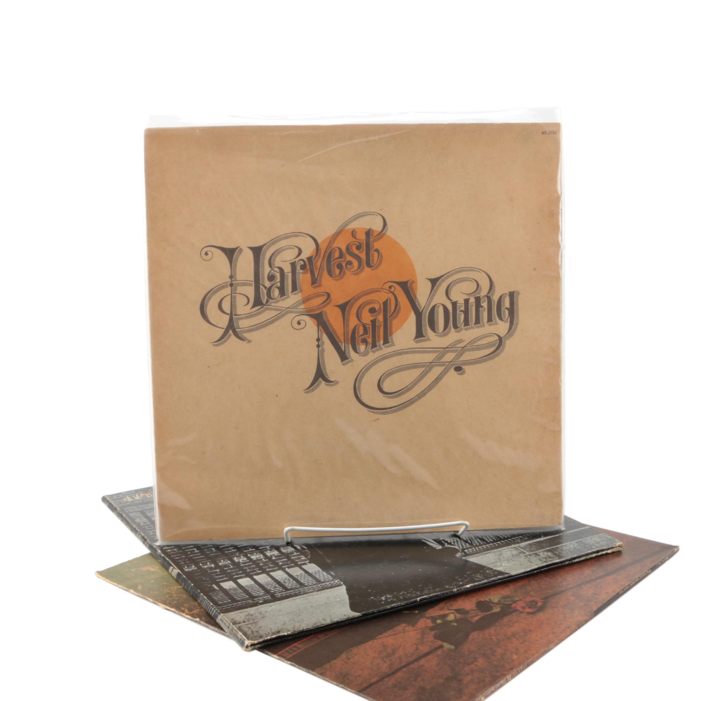 """Neil Young LPs Including """"Harvest"""" and """"After The Gold Rush"""""""