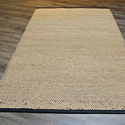 Hand Loomed Natural Fiber Area Rug