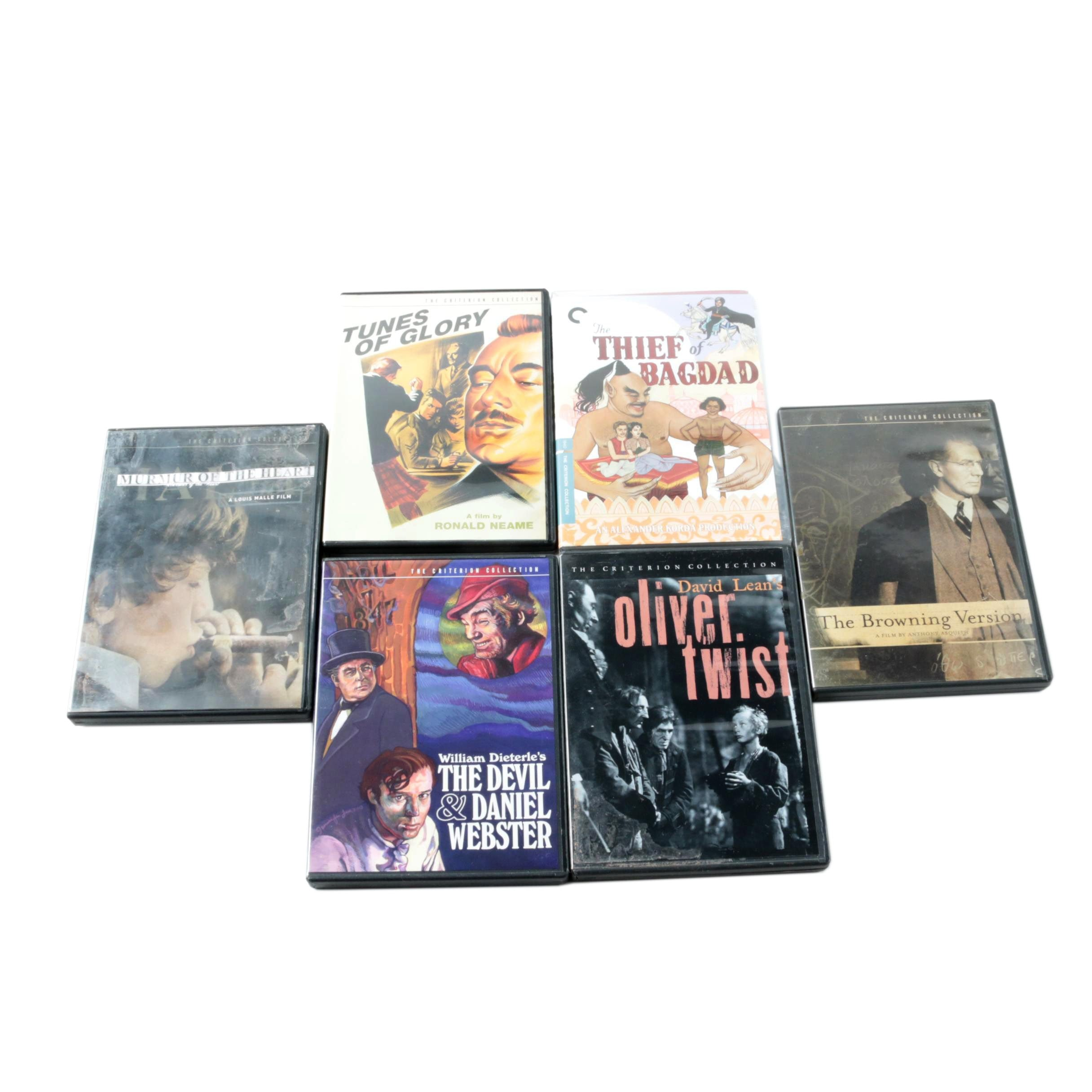 """Criterion Collection Films on DVD Including """"Oliver Twist"""" and """"Thief of Bagdad"""""""