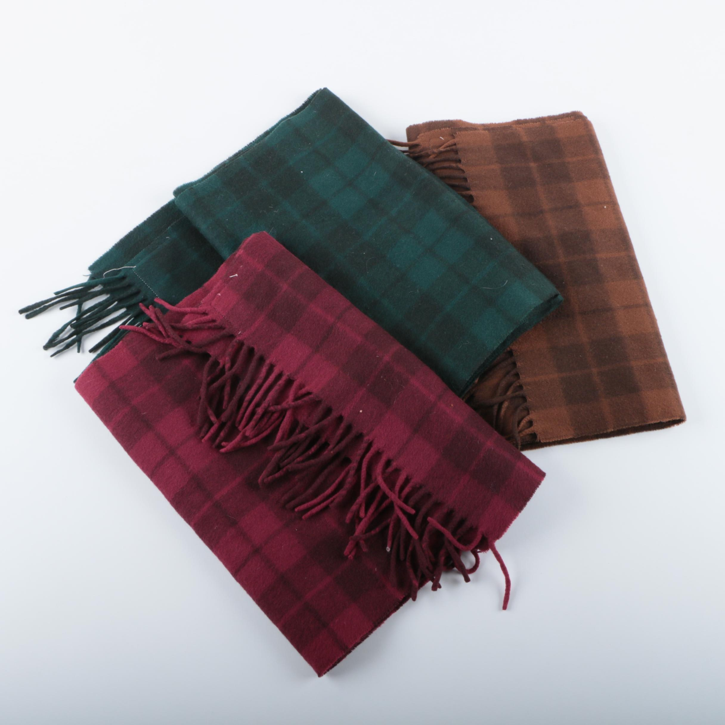 Faliero Sarti Plaid Scarves
