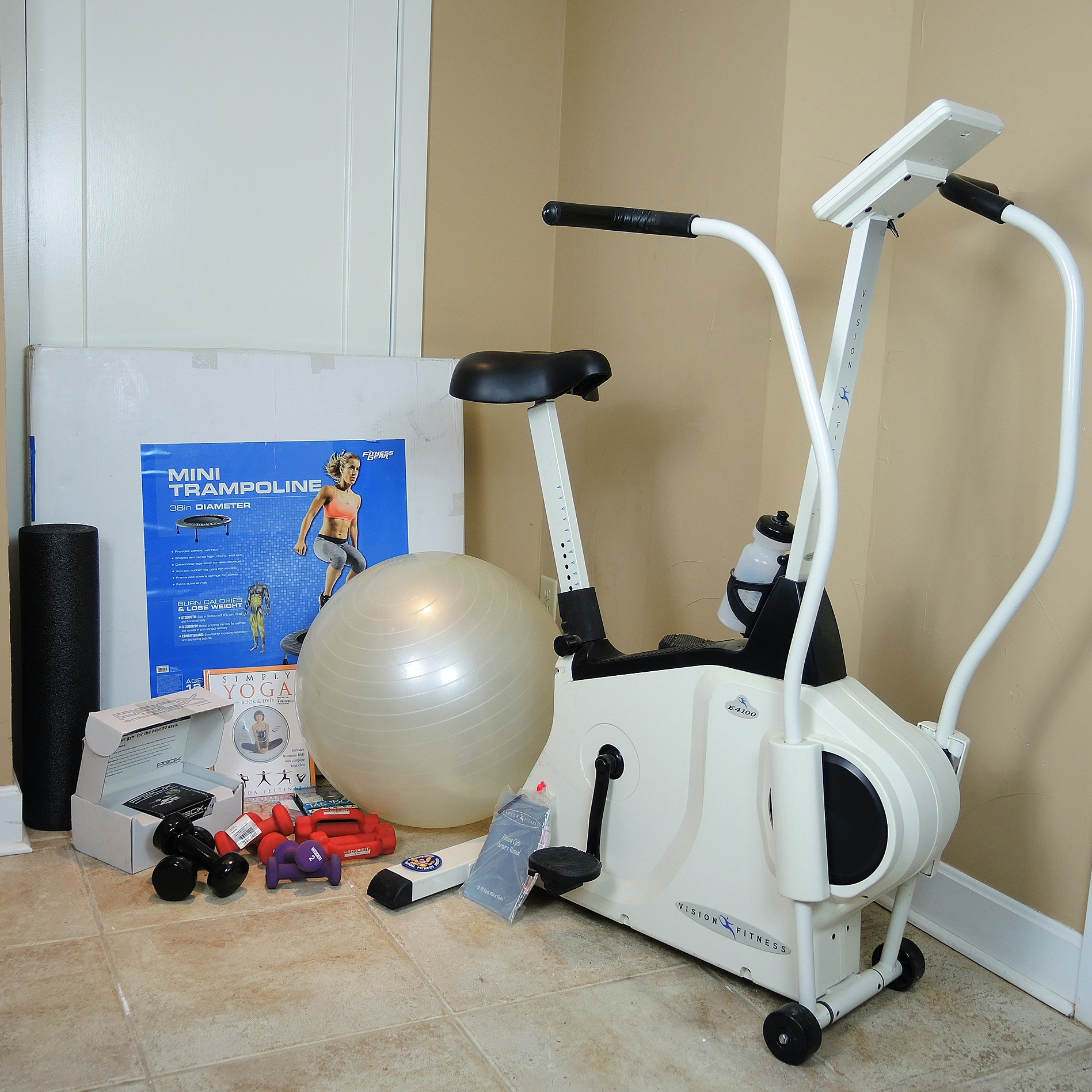 Vision Fitness E4100 Cycle Trainer and Fitness Equipment