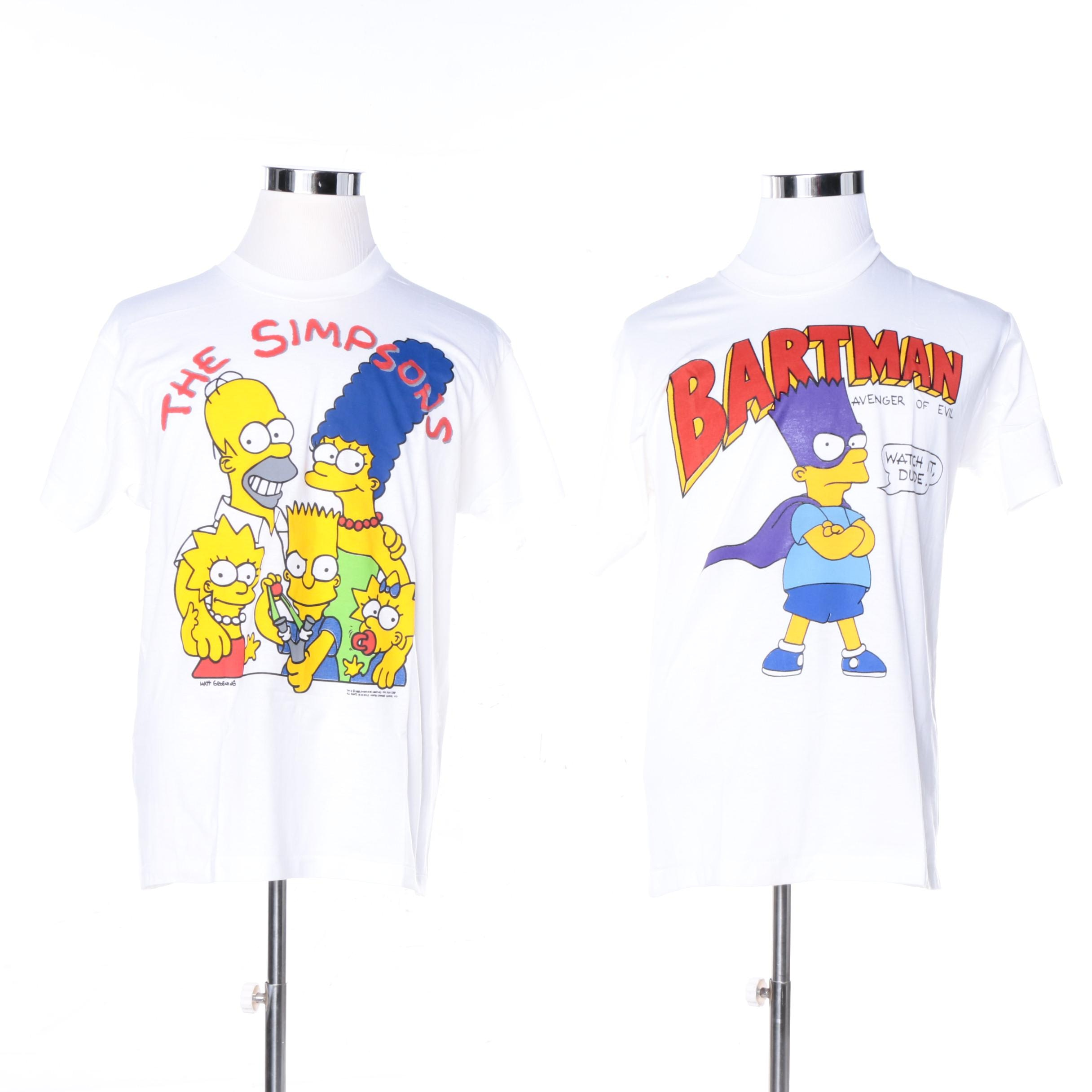 """The Simpsons"" Novelty T-Shirts"