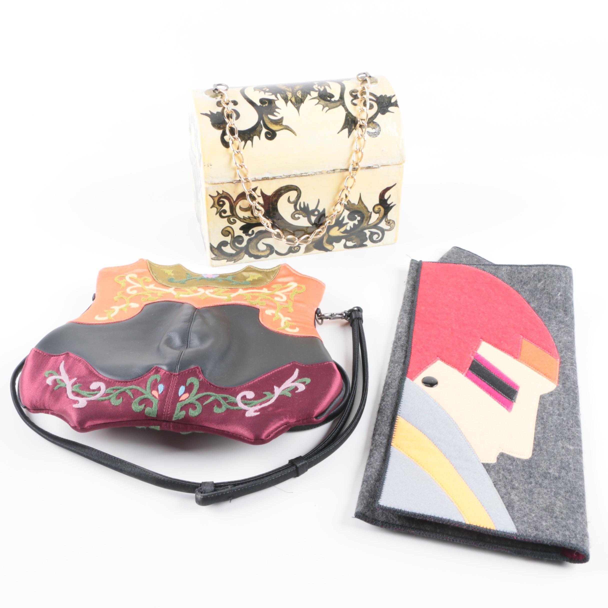 Handmade Handbags and Clutch