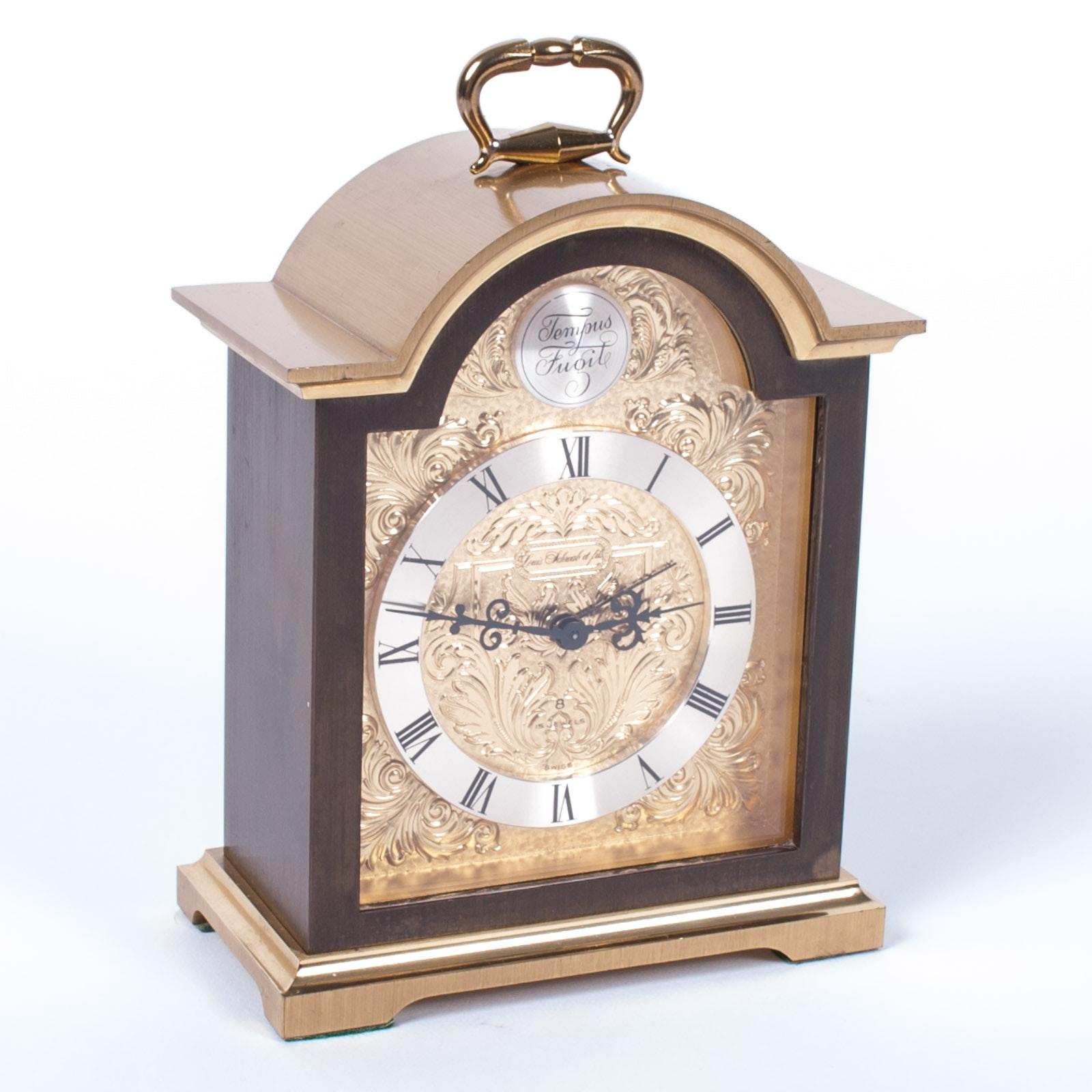 Vintage Louis Schwab et Fils Carriage Clock