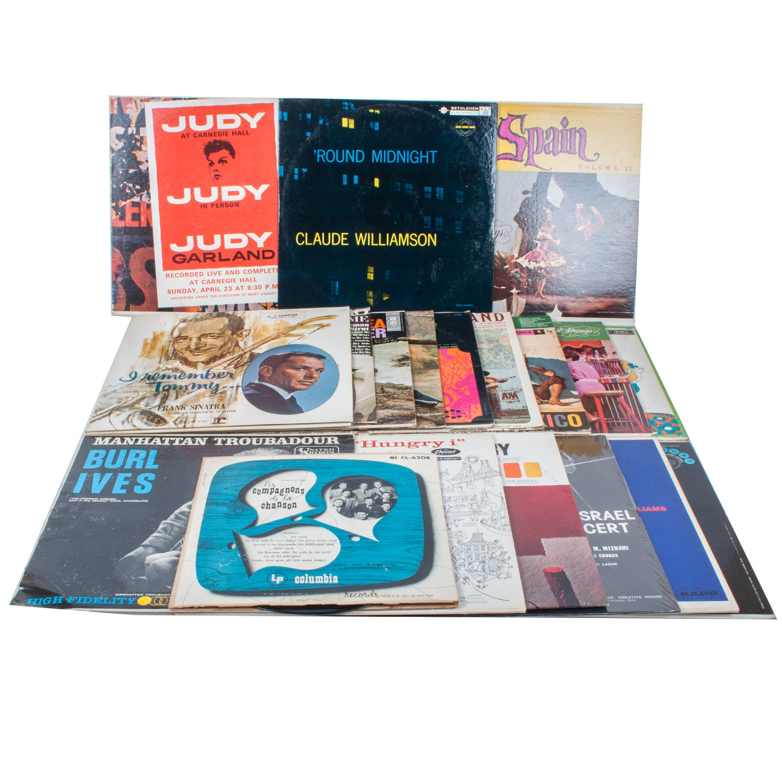Assortment of Jazz Pop and World Music Records
