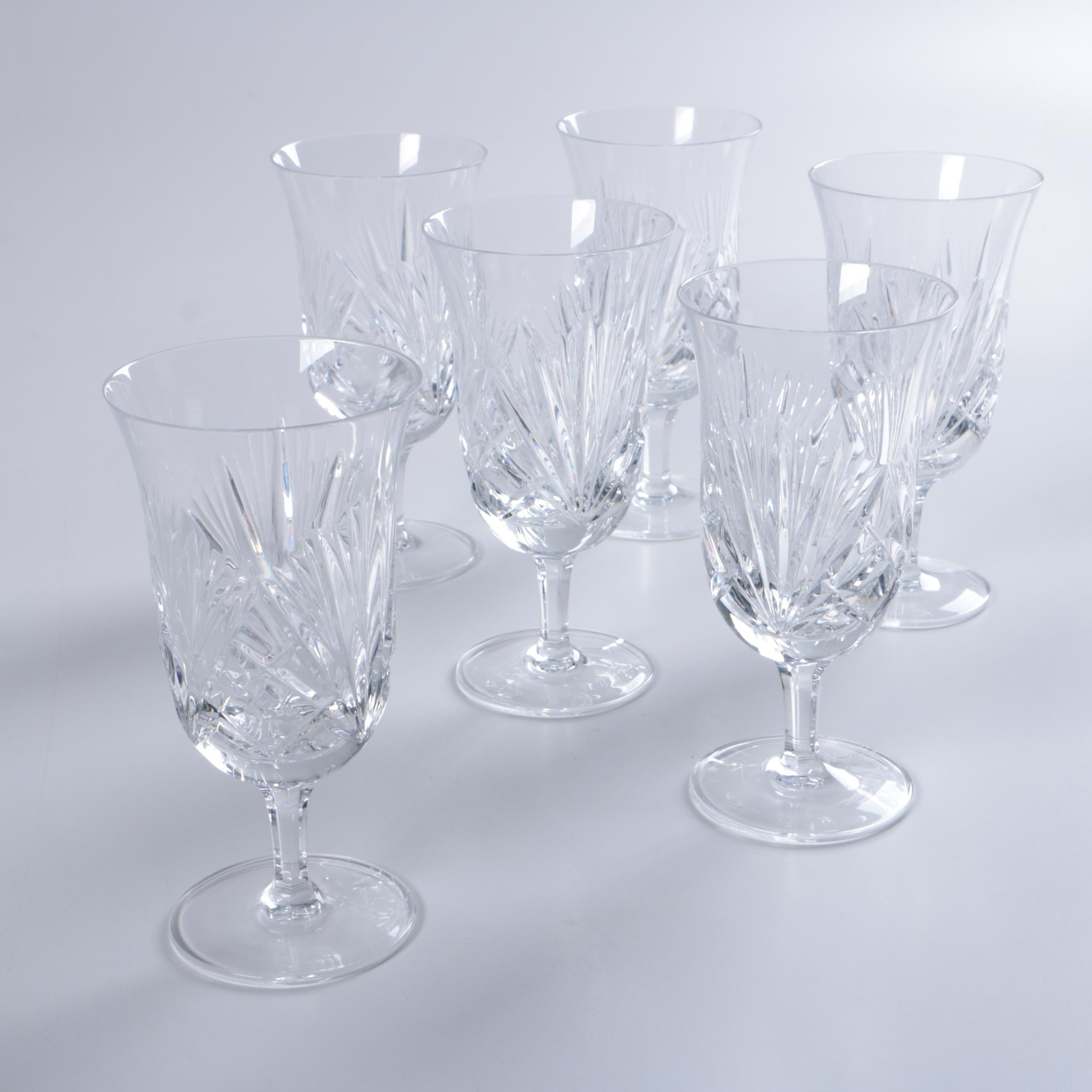 Collection of Crystal Water Goblets