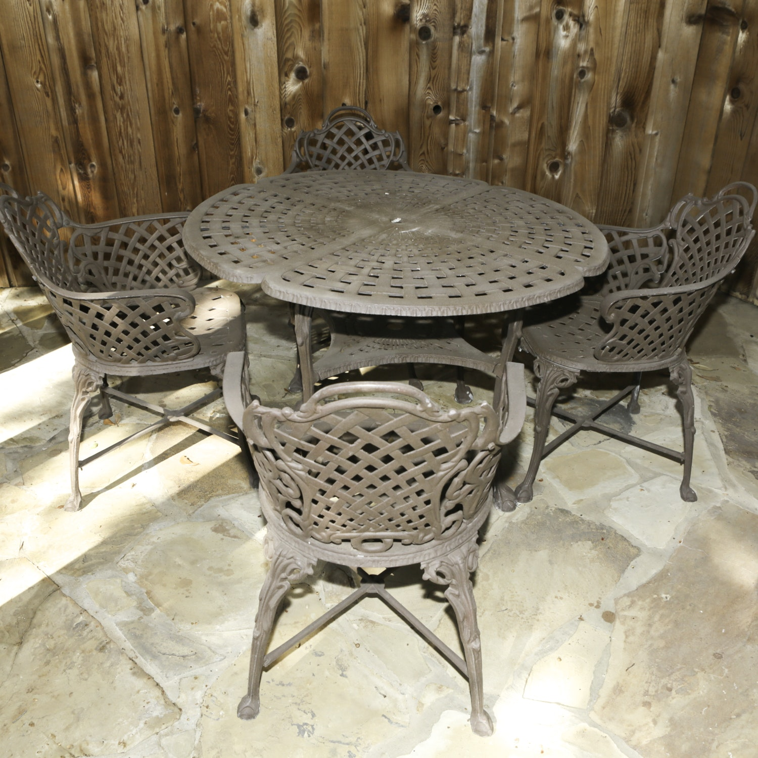 Metal Patio Table and Chairs