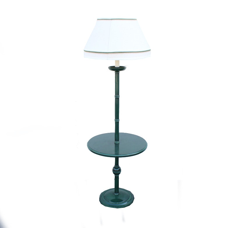 Emerald Green Table Floor Lamp Ebth