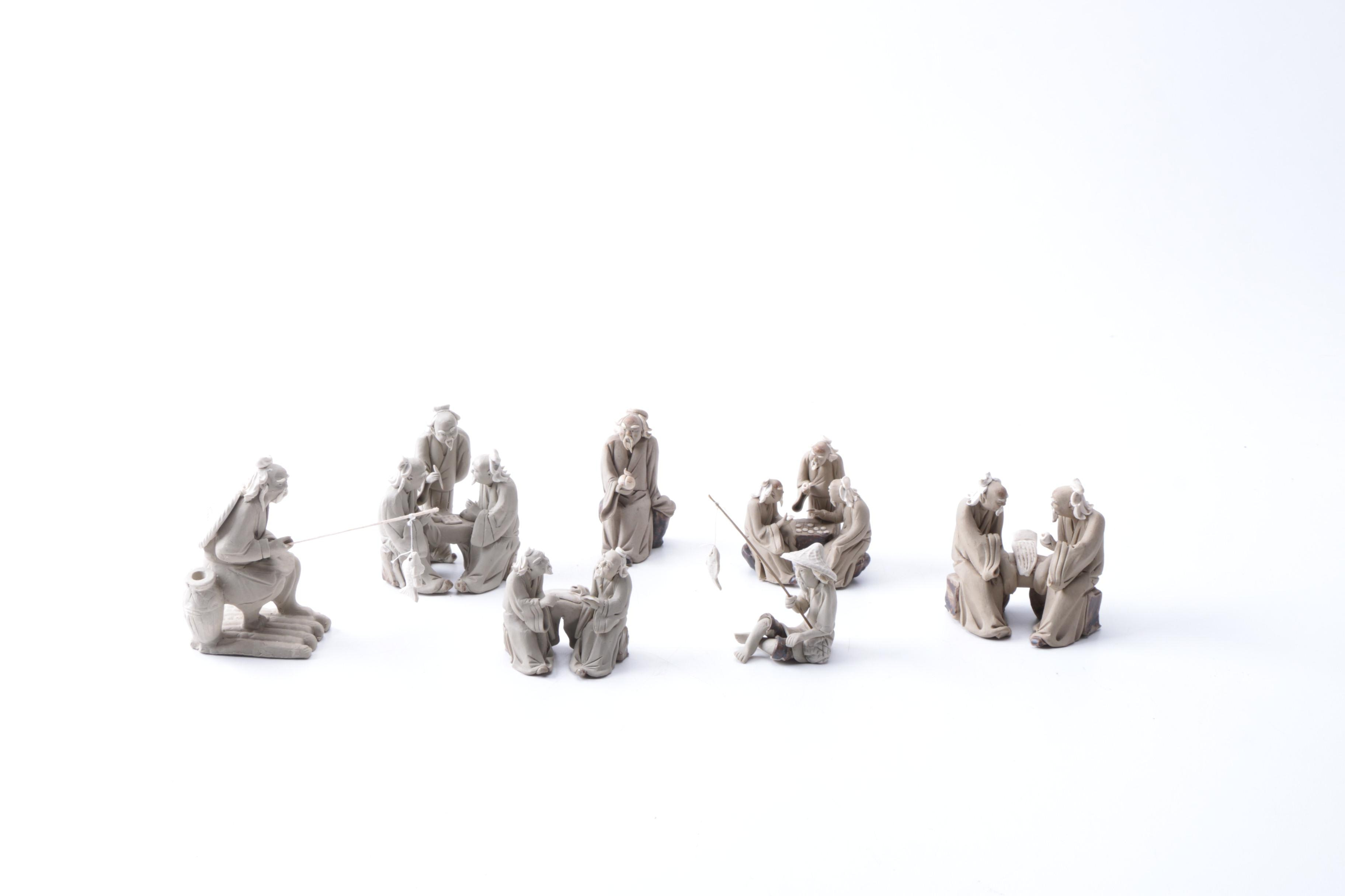 Collection of Chinese Ceramic Figurines