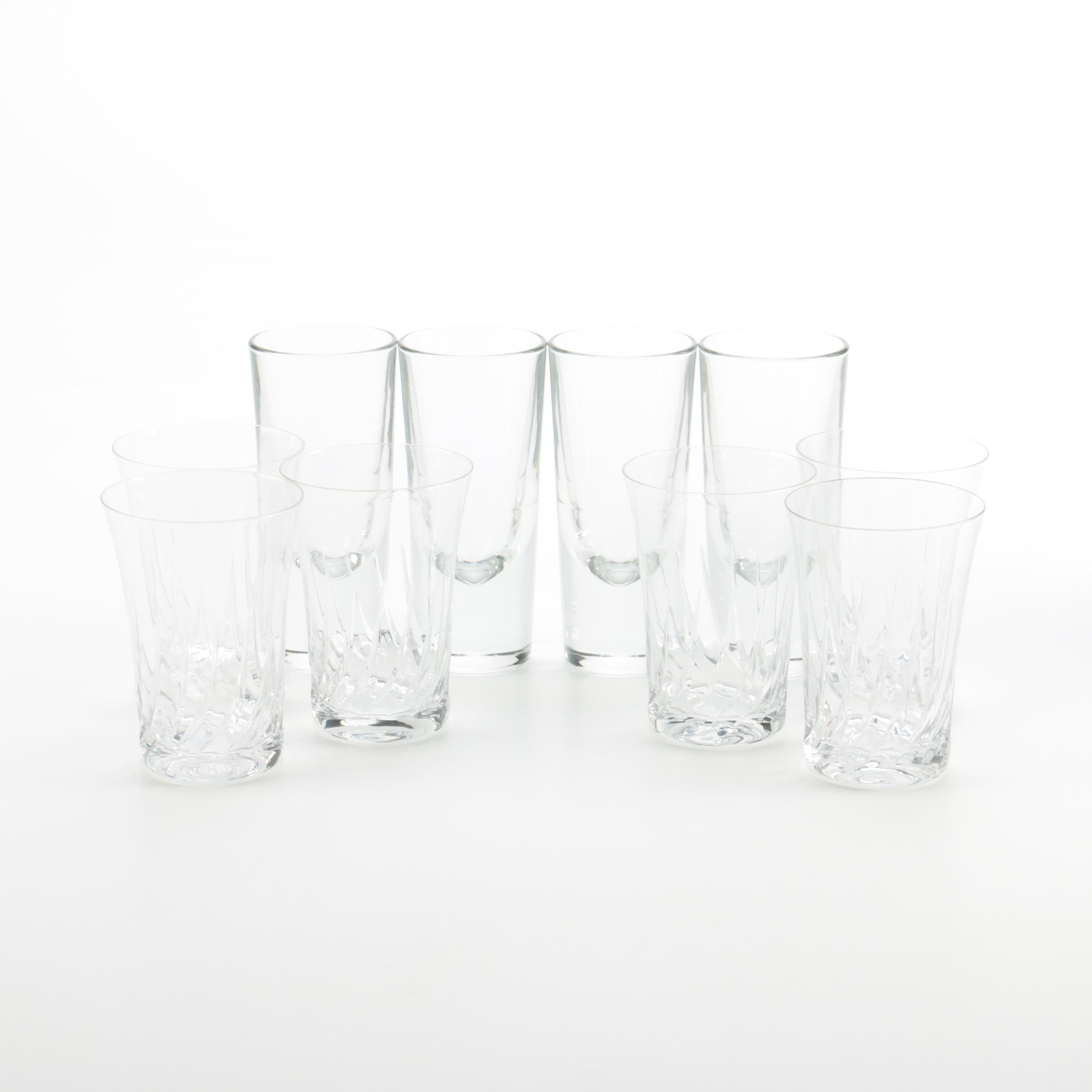 Collection of Glass Drinkware