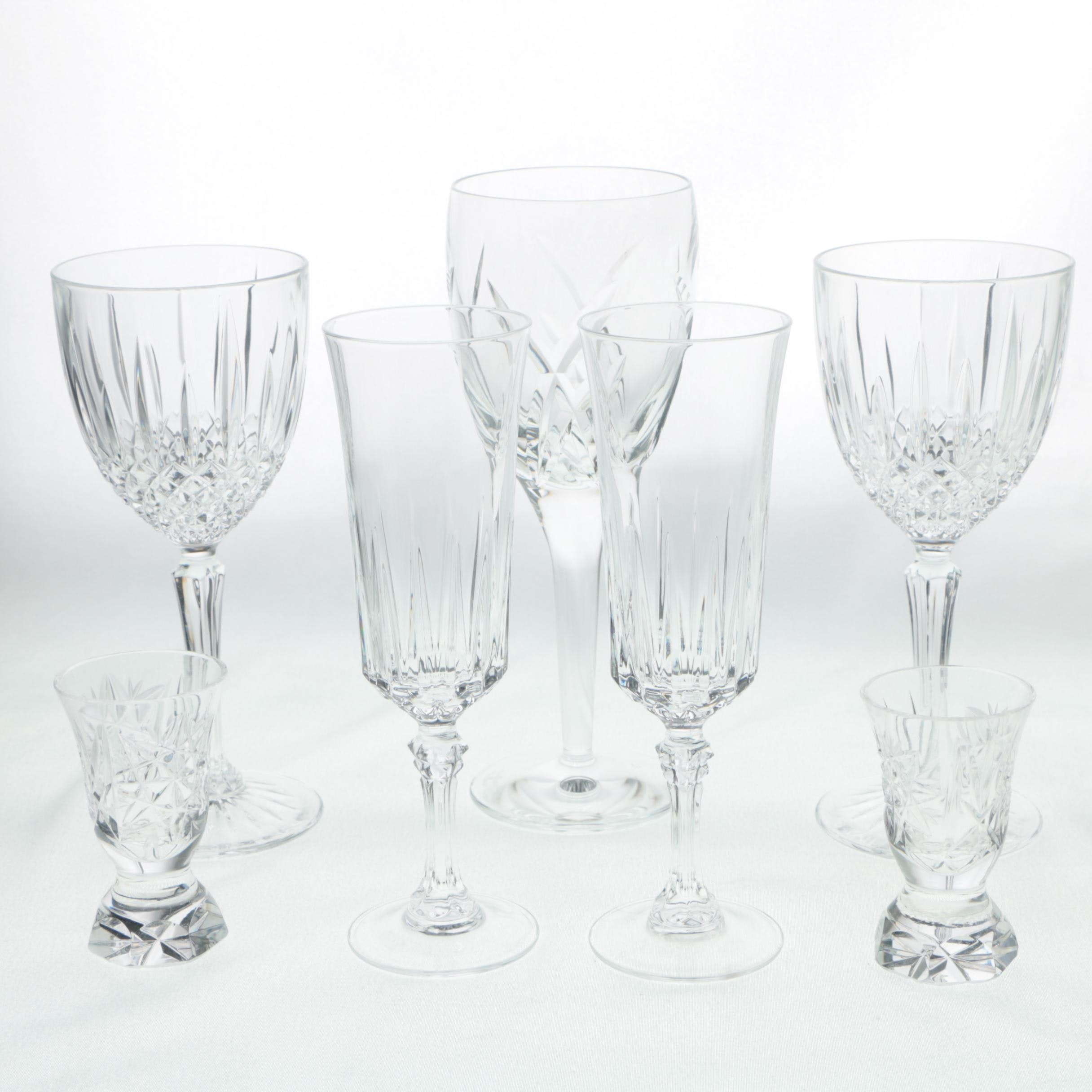 Crystal Stemware Including John Rocha for Waterford Crystal