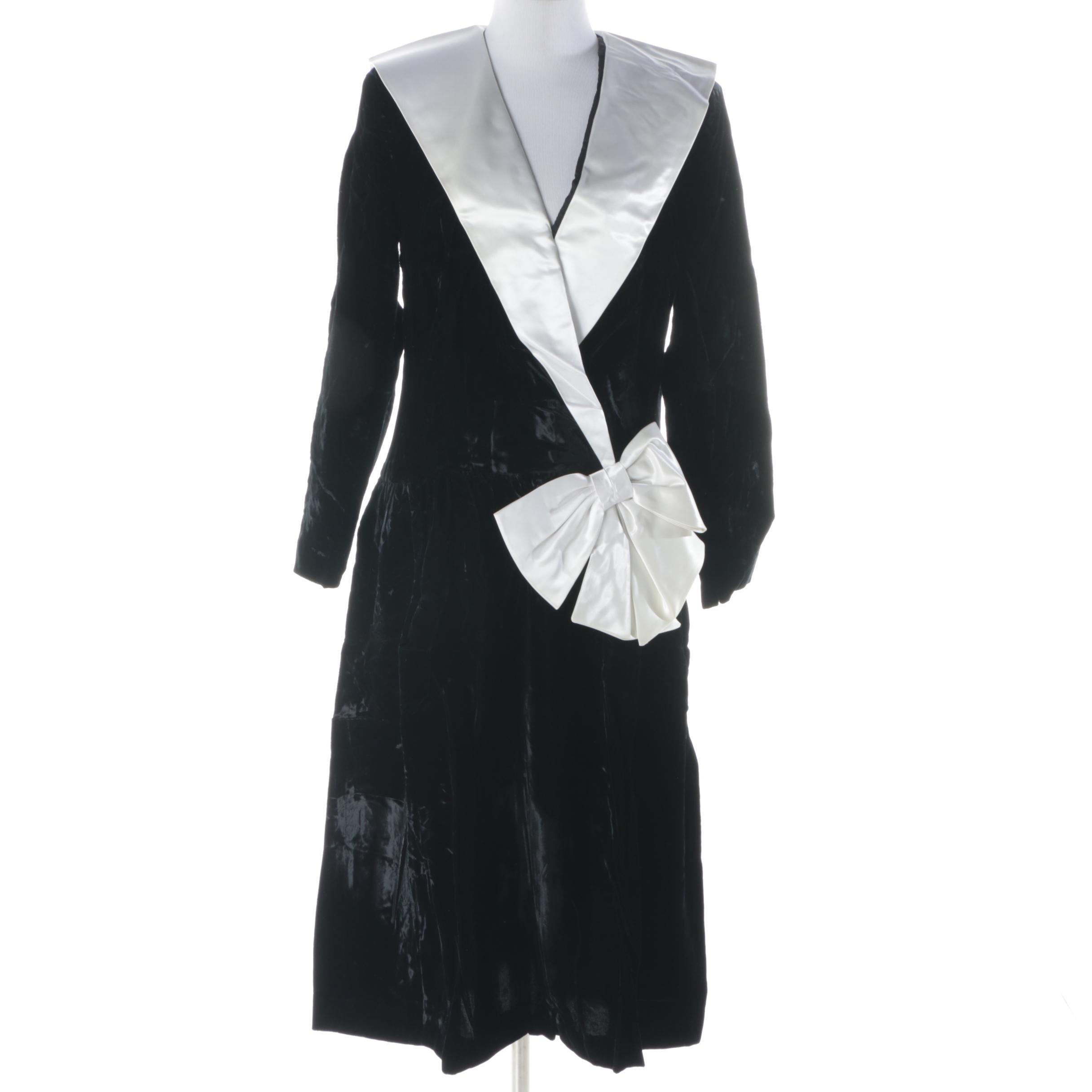 Cattiva by Maya Jornot Velvet Dress