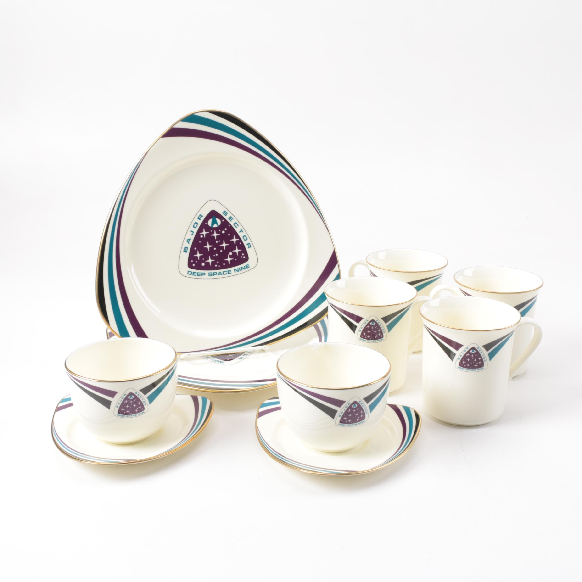 "Pfaltzgraff ""Star Trek"" Bone China Tableware"