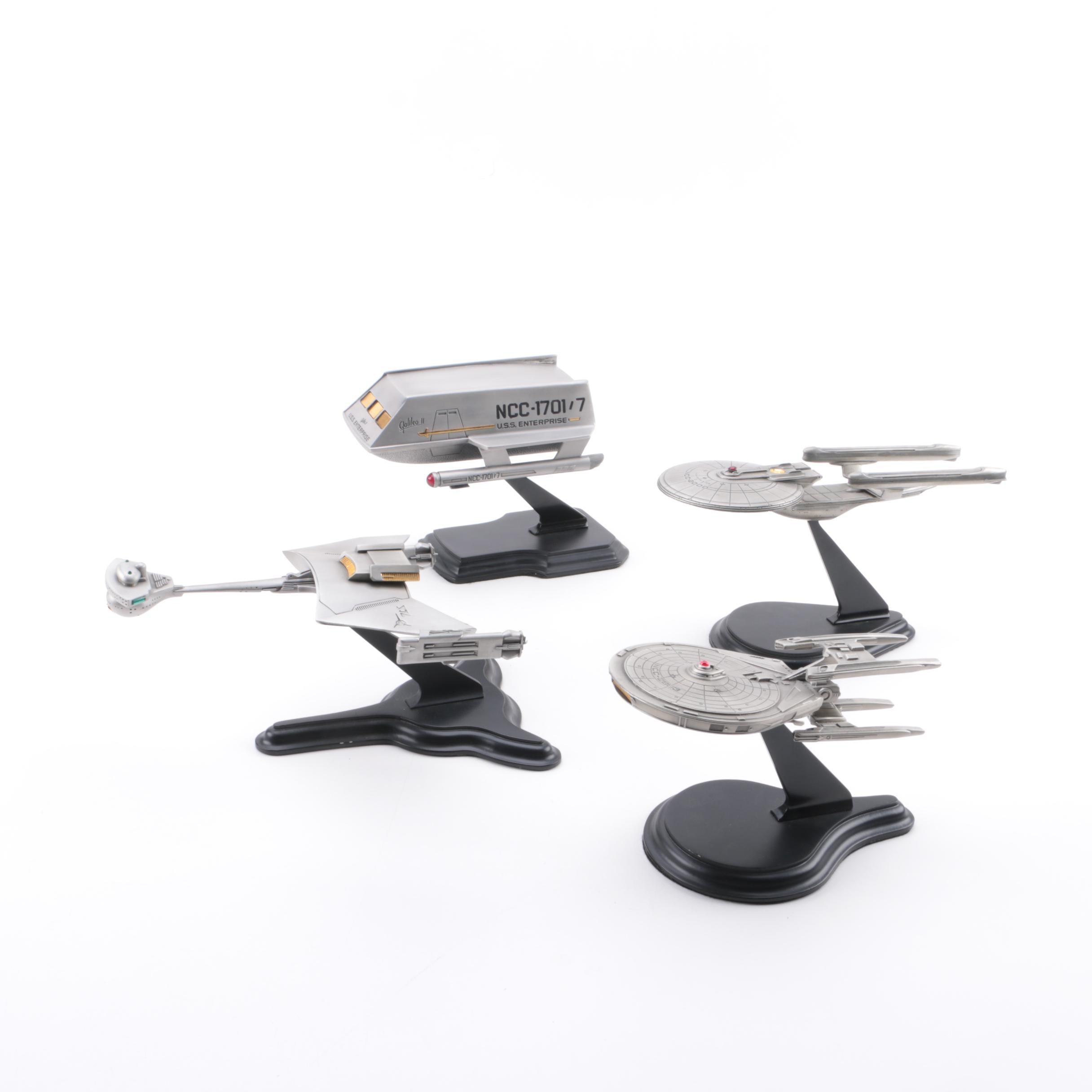 "Franklin Mint ""Star Trek"" Ship Models"